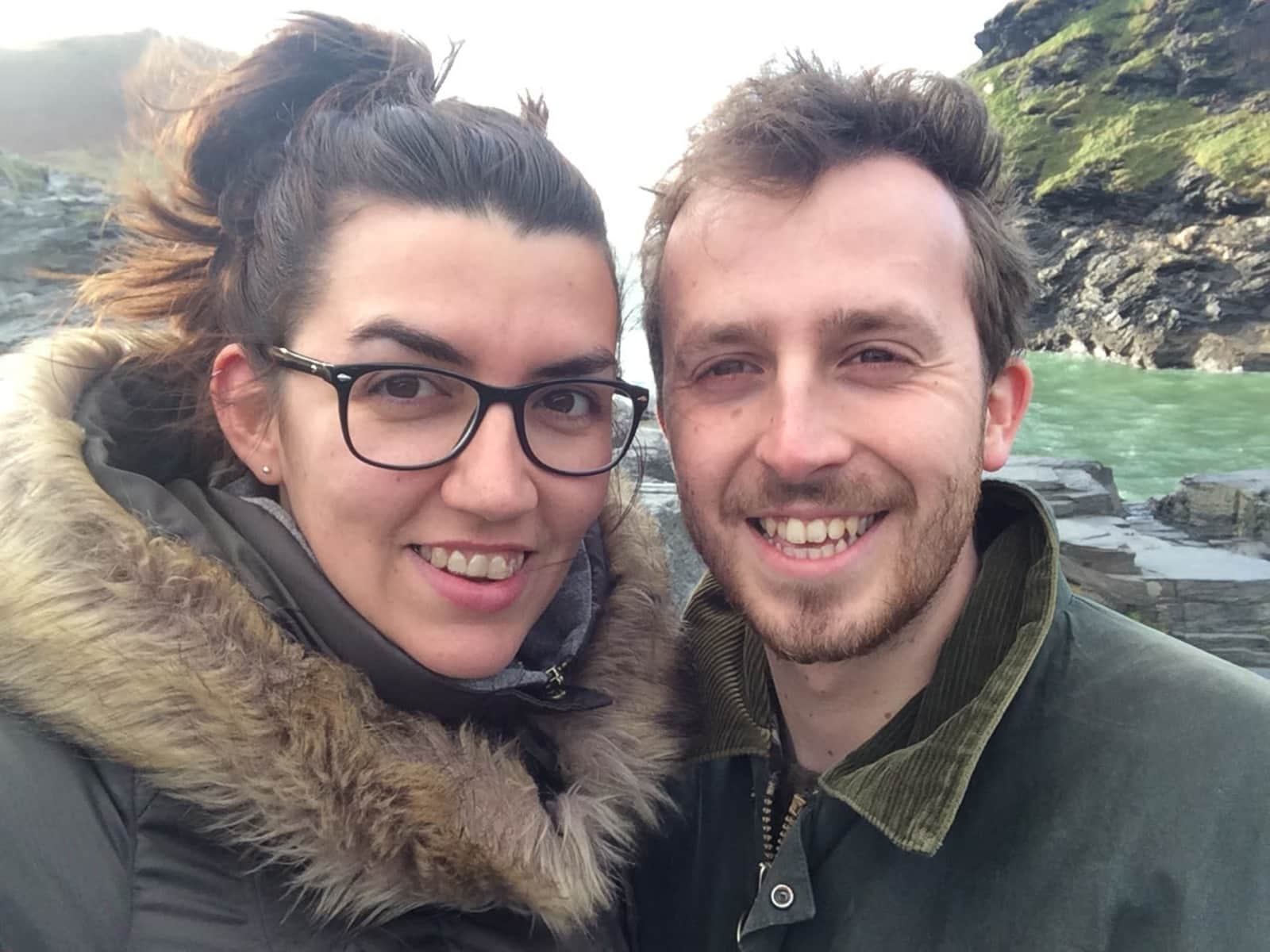 Becky & Samuel from Glastonbury, United Kingdom