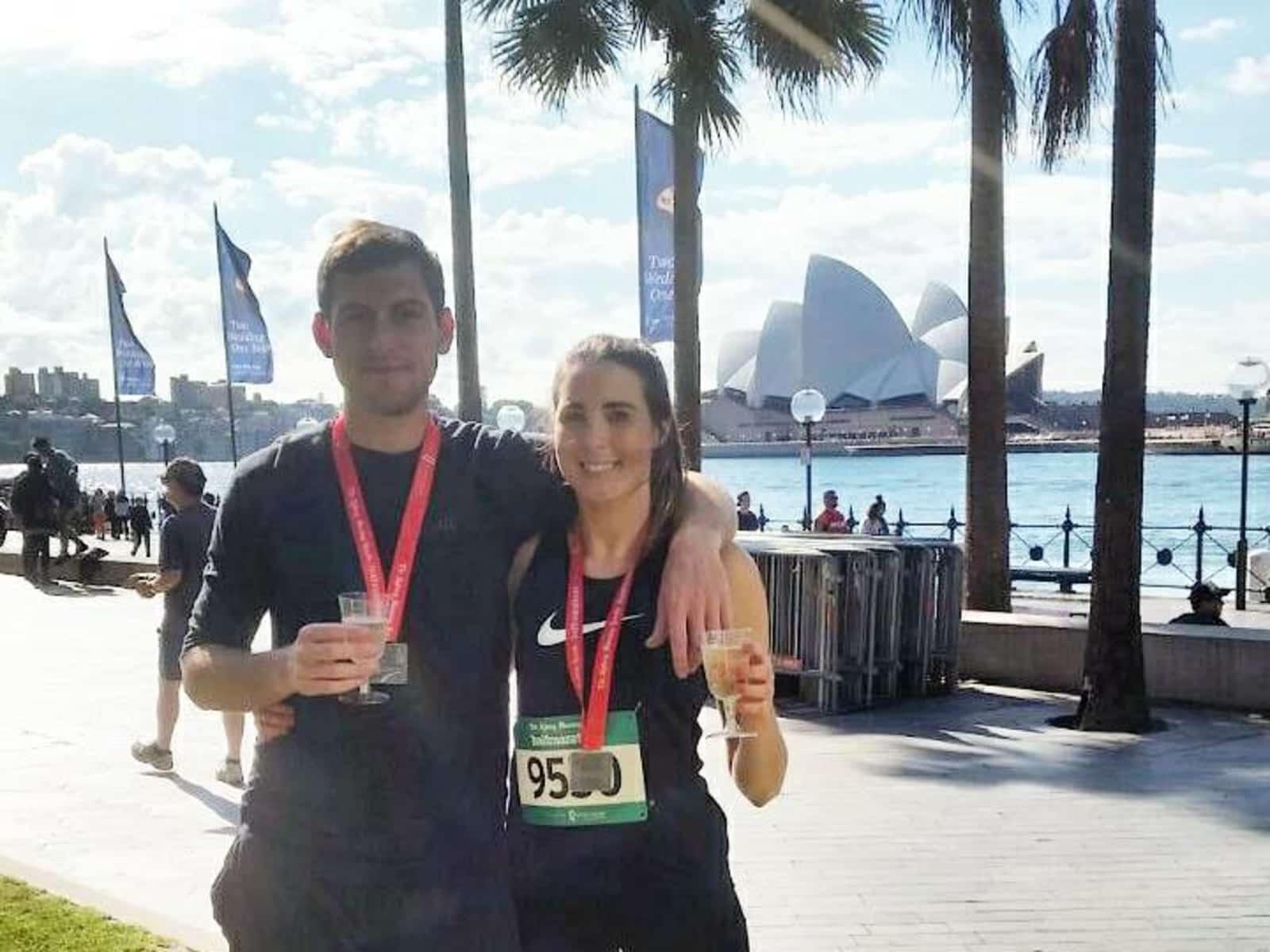 Maria & Gordon from Sydney, New South Wales, Australia