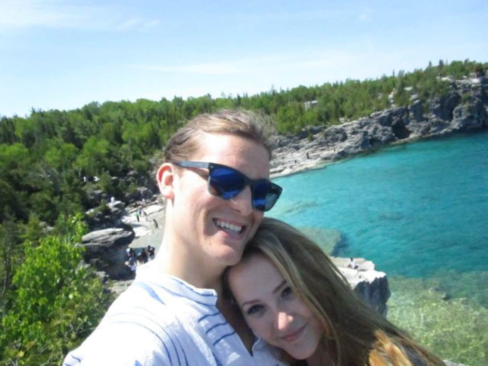 Taylor & Curtis from Paris, Ontario, Canada
