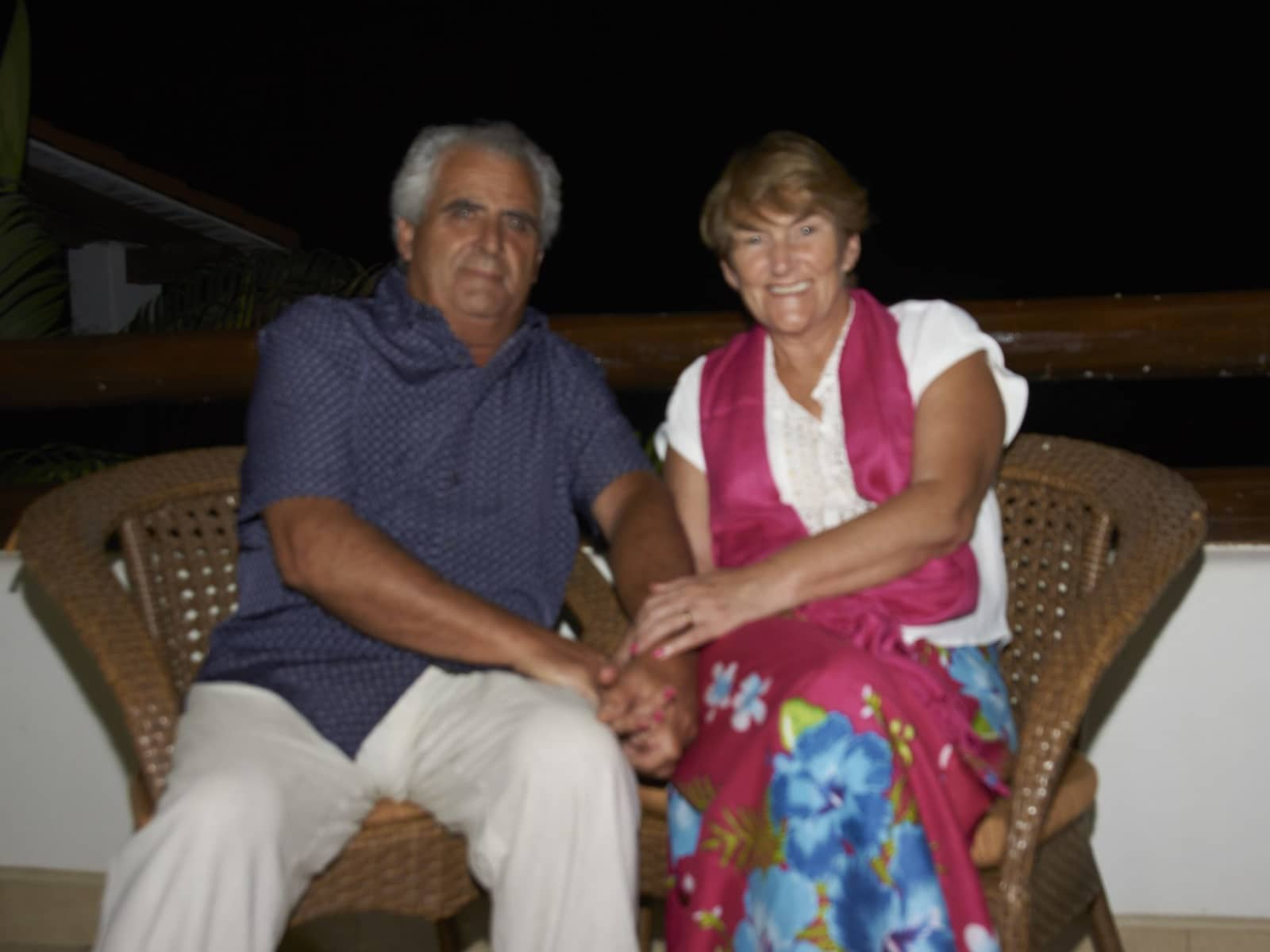Lynda & Davide from Guernsey