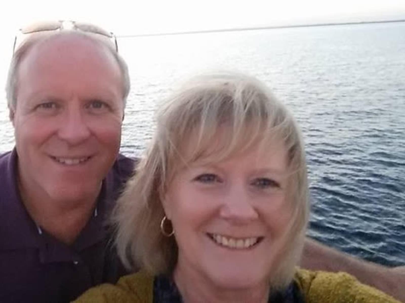 Dee-anne & David from Godshill, United Kingdom