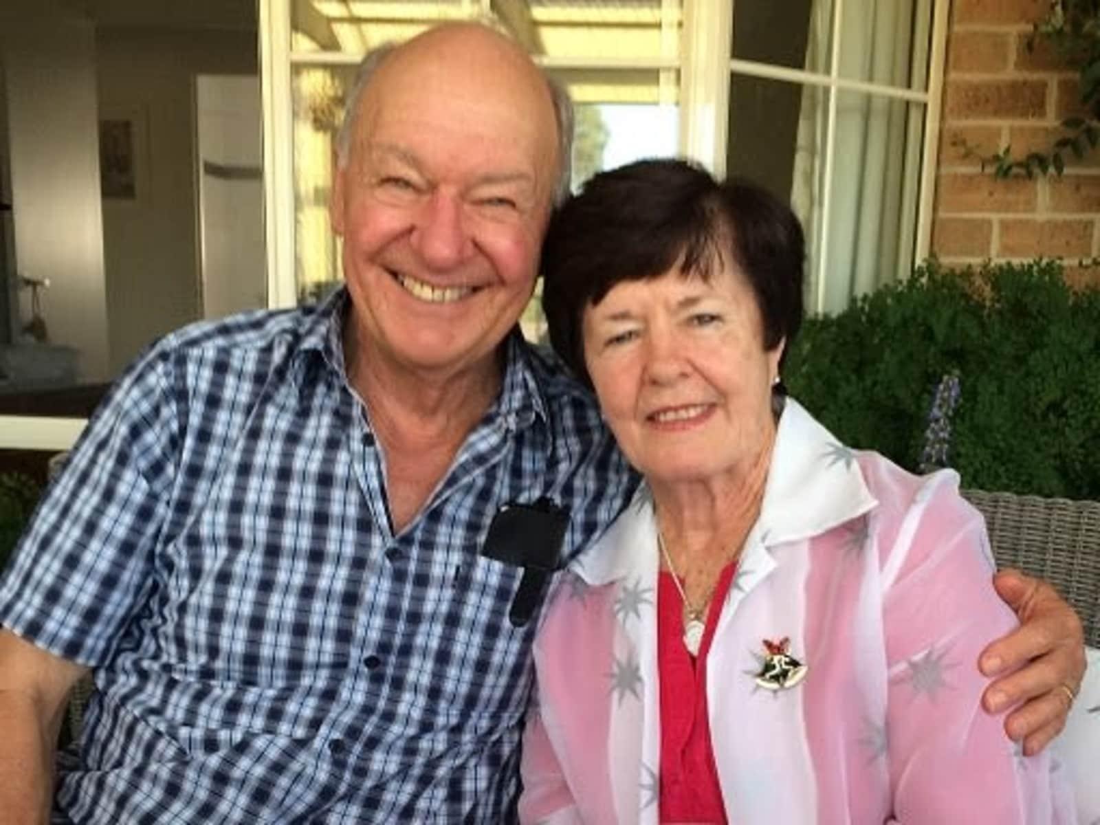 Brian & Denise from Melbourne, Victoria, Australia