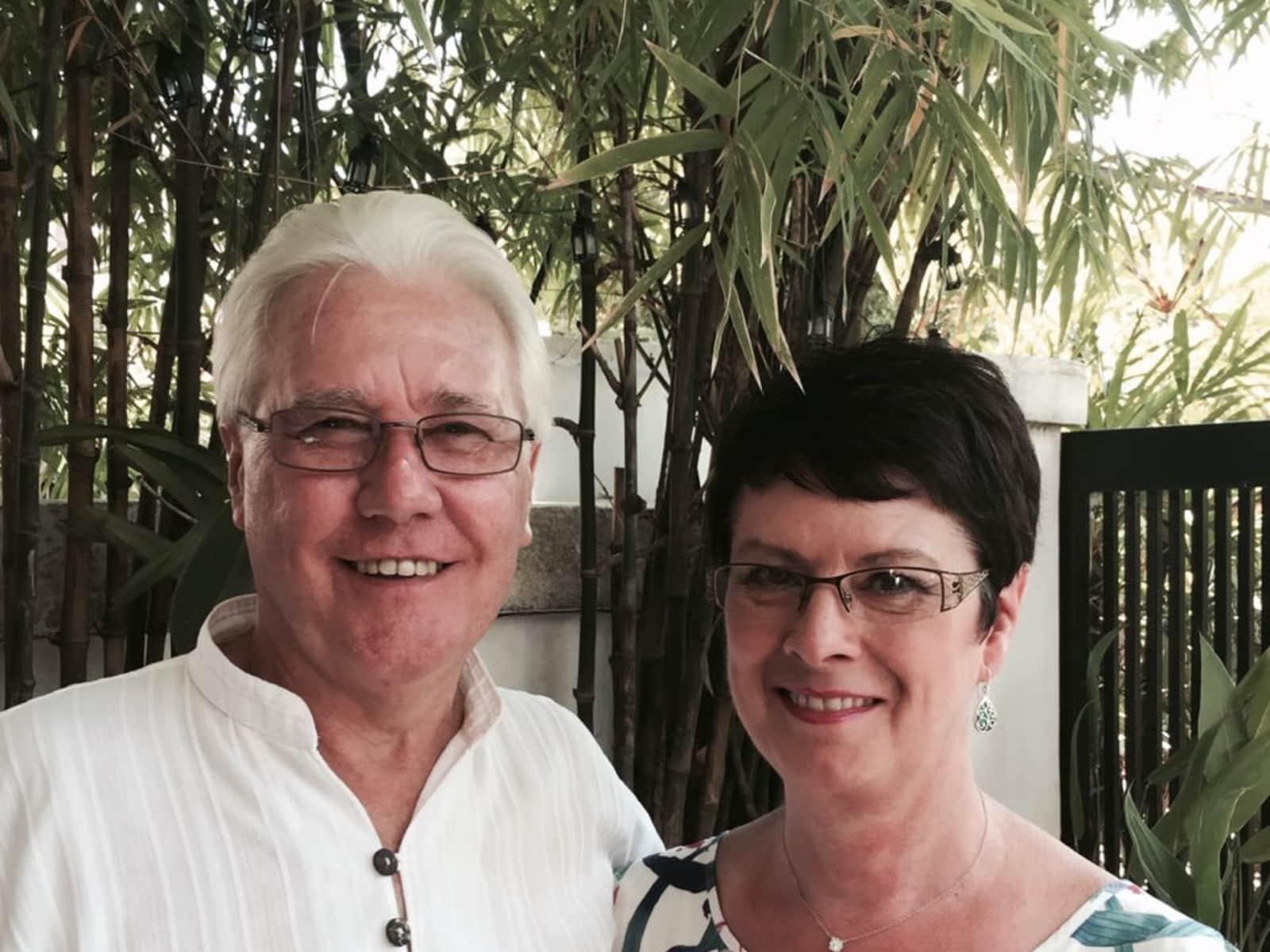 Catherine & Brian from Brisbane, Queensland, Australia