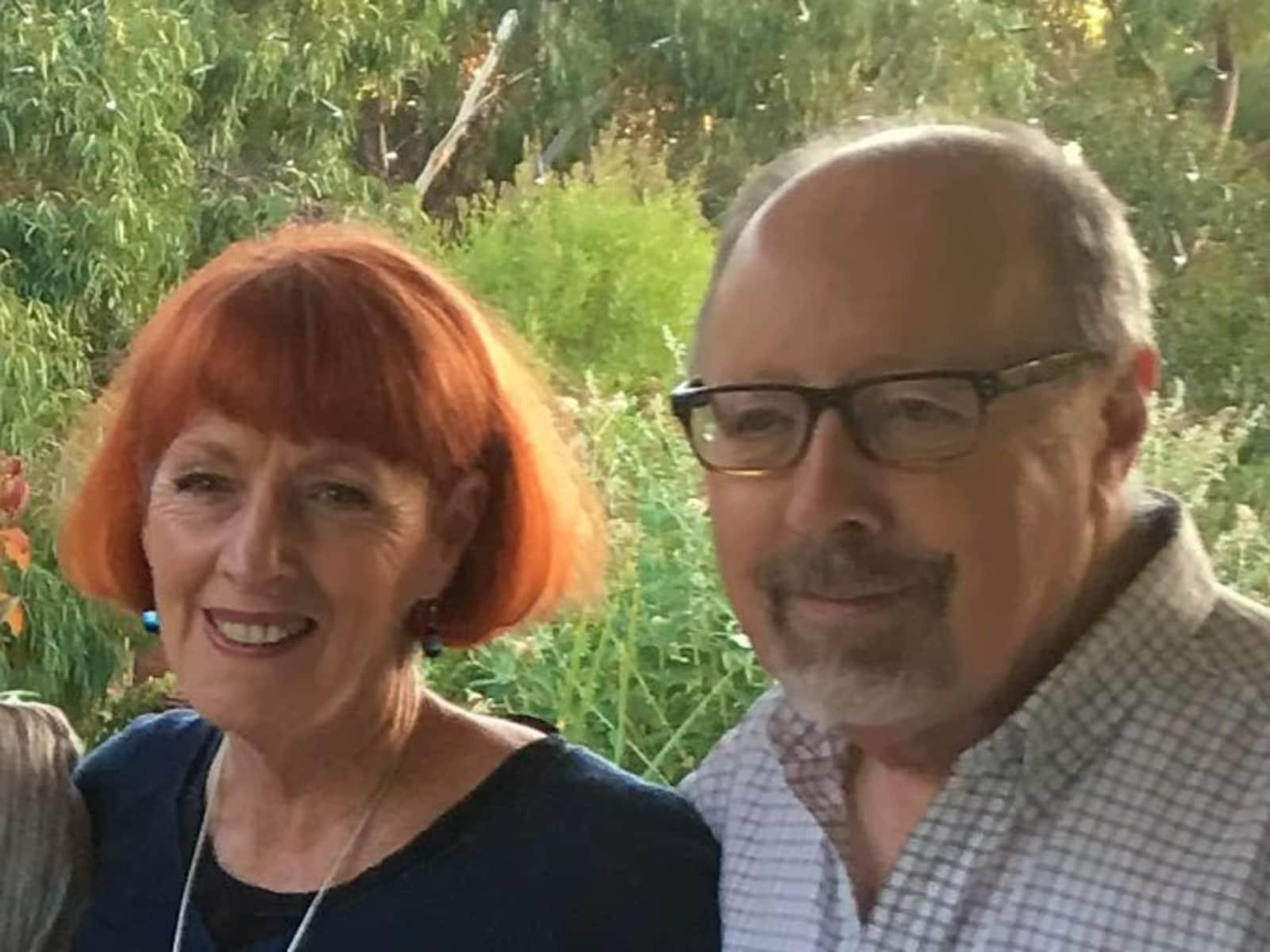 Christine & Peter from Melbourne, Victoria, Australia