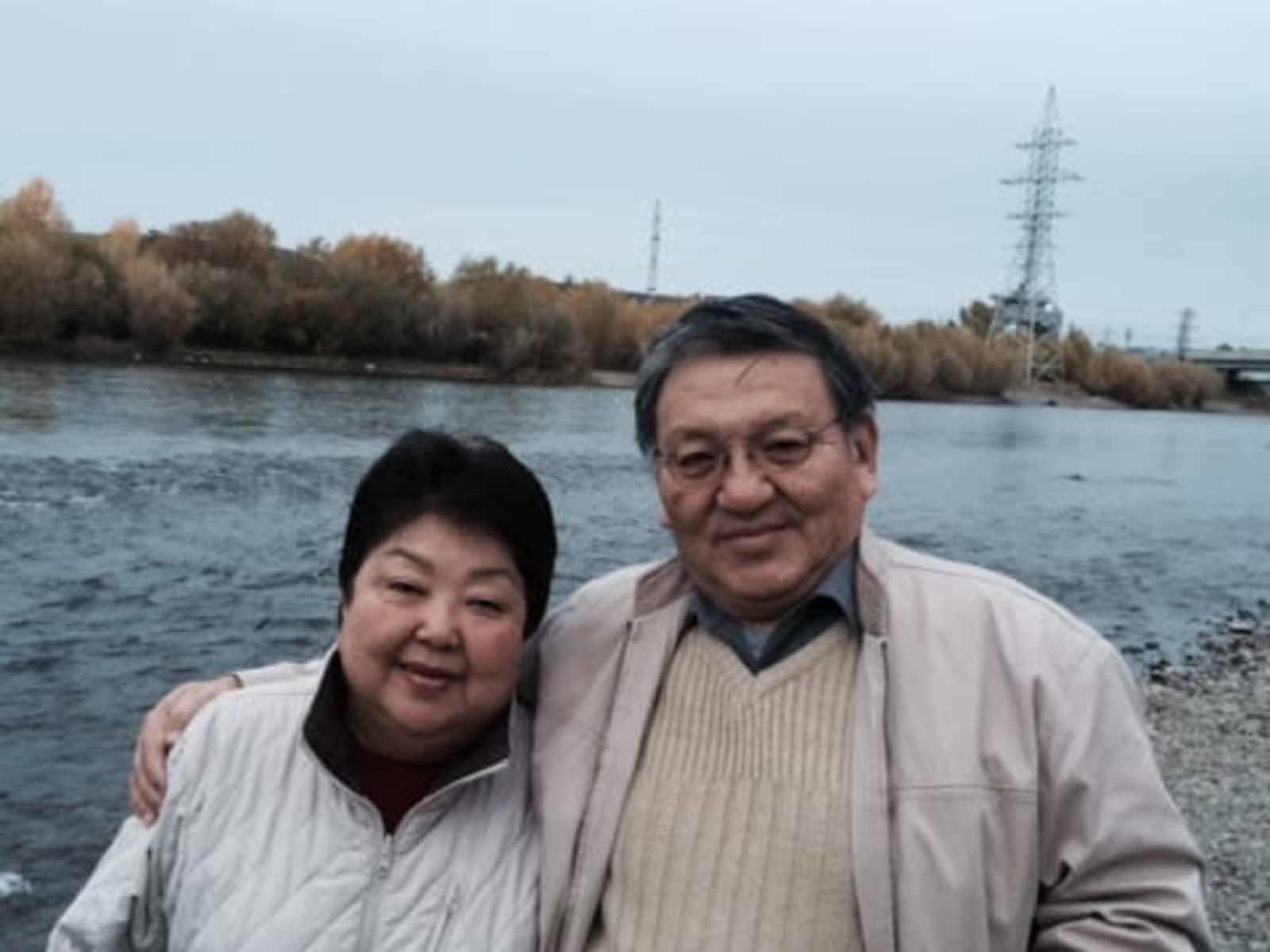 Choi & Mai from Ulaanbaatar, Mongolia