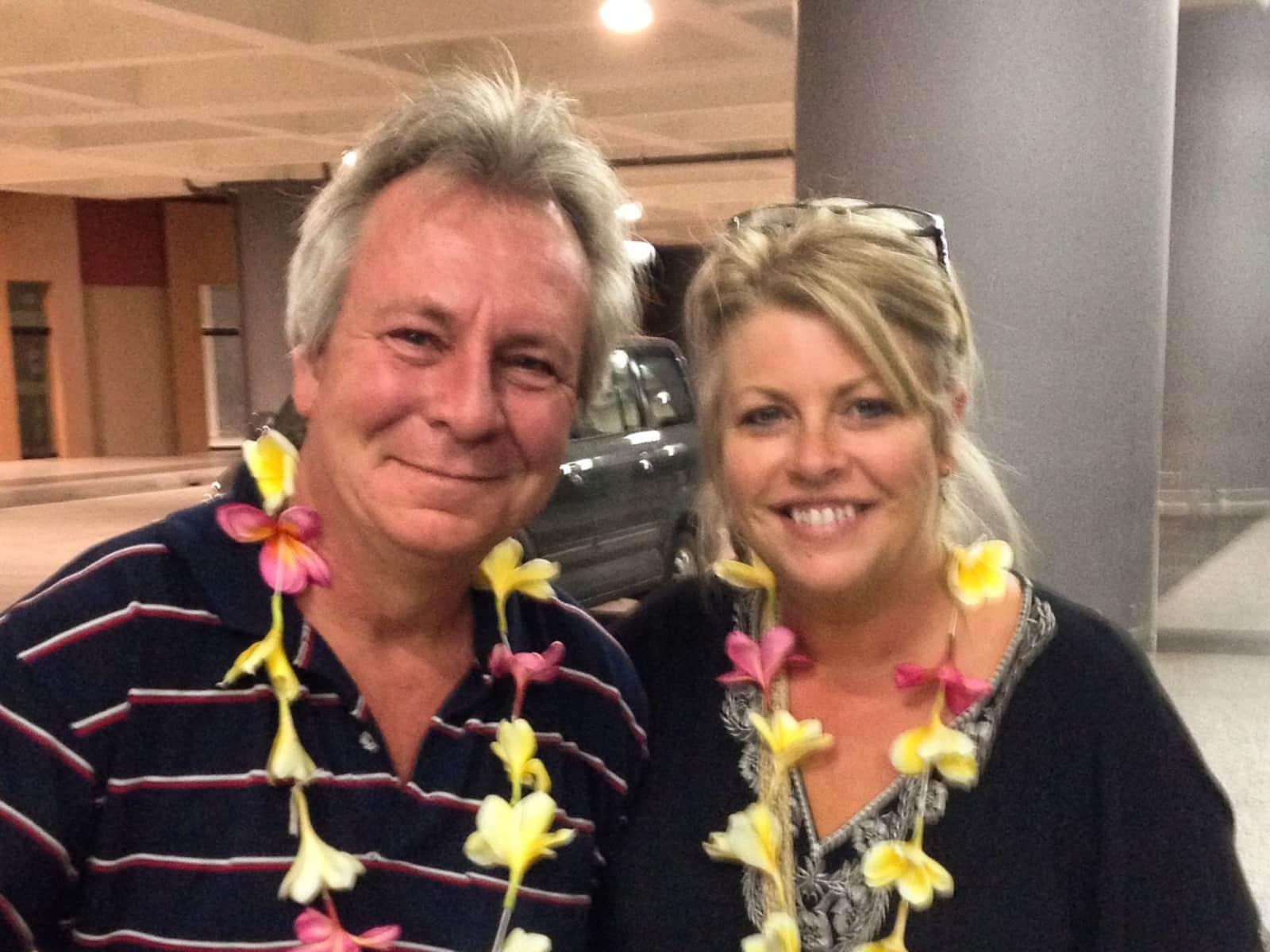 Rachel & Kent from Perth, Western Australia, Australia