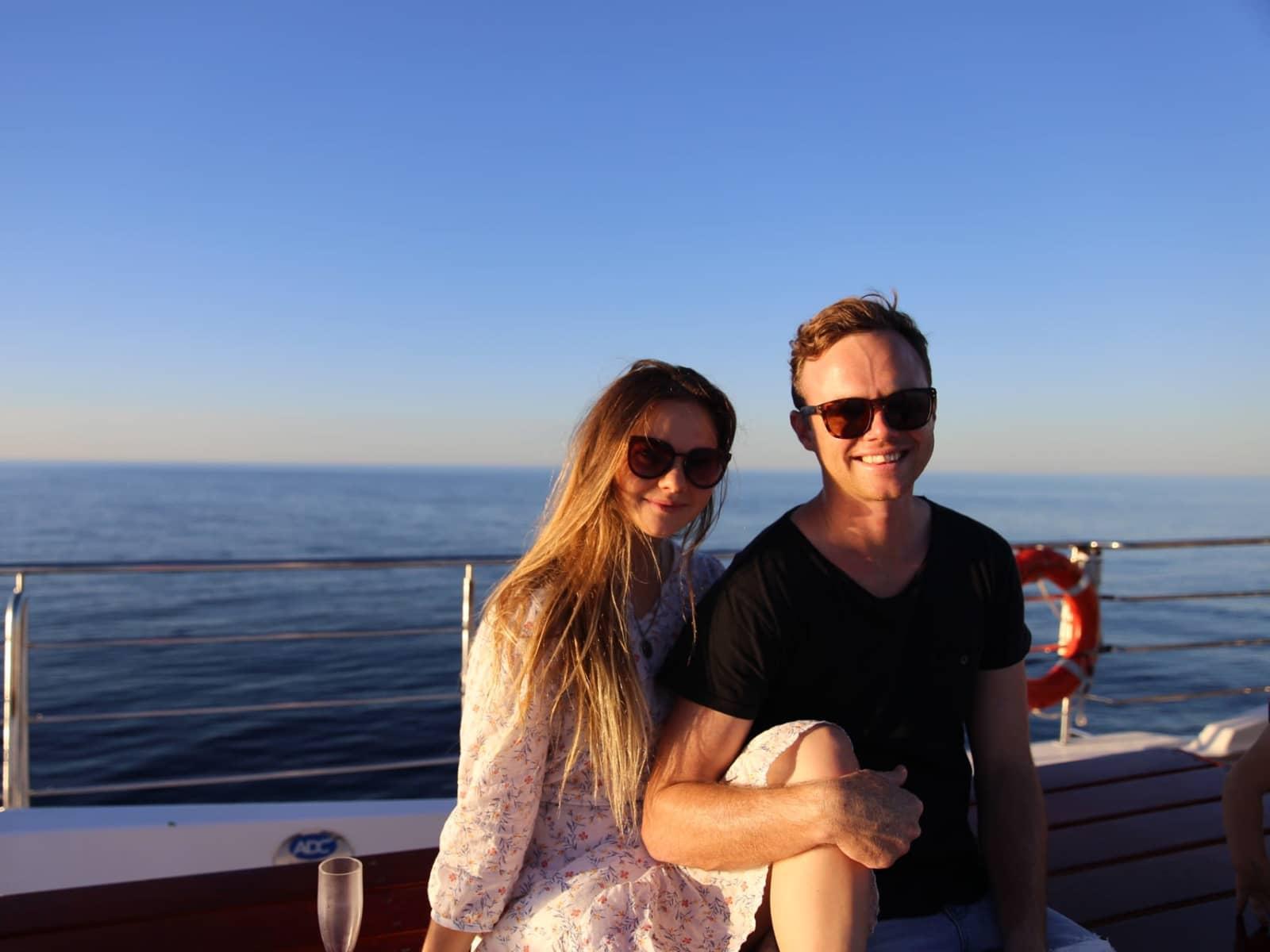 Jordan & Mattea from Perth, Western Australia, Australia