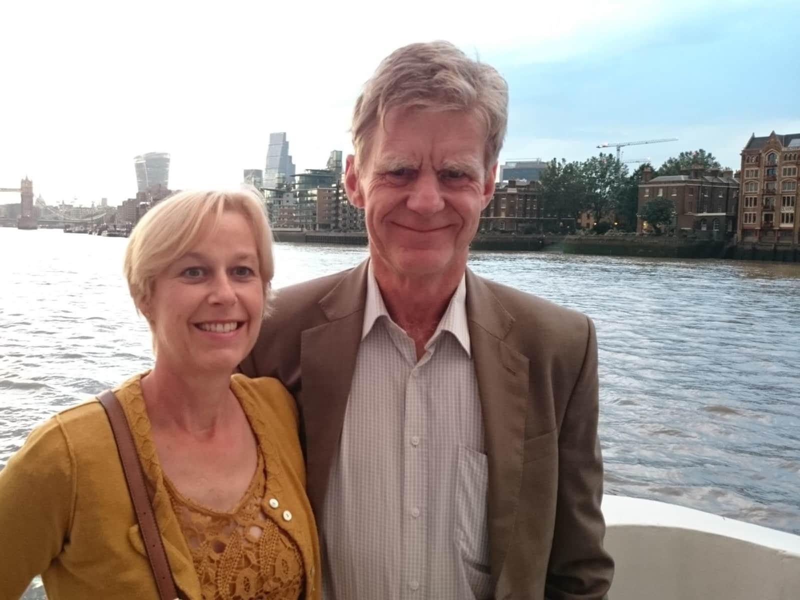 Bridget & Iain from Blean, United Kingdom