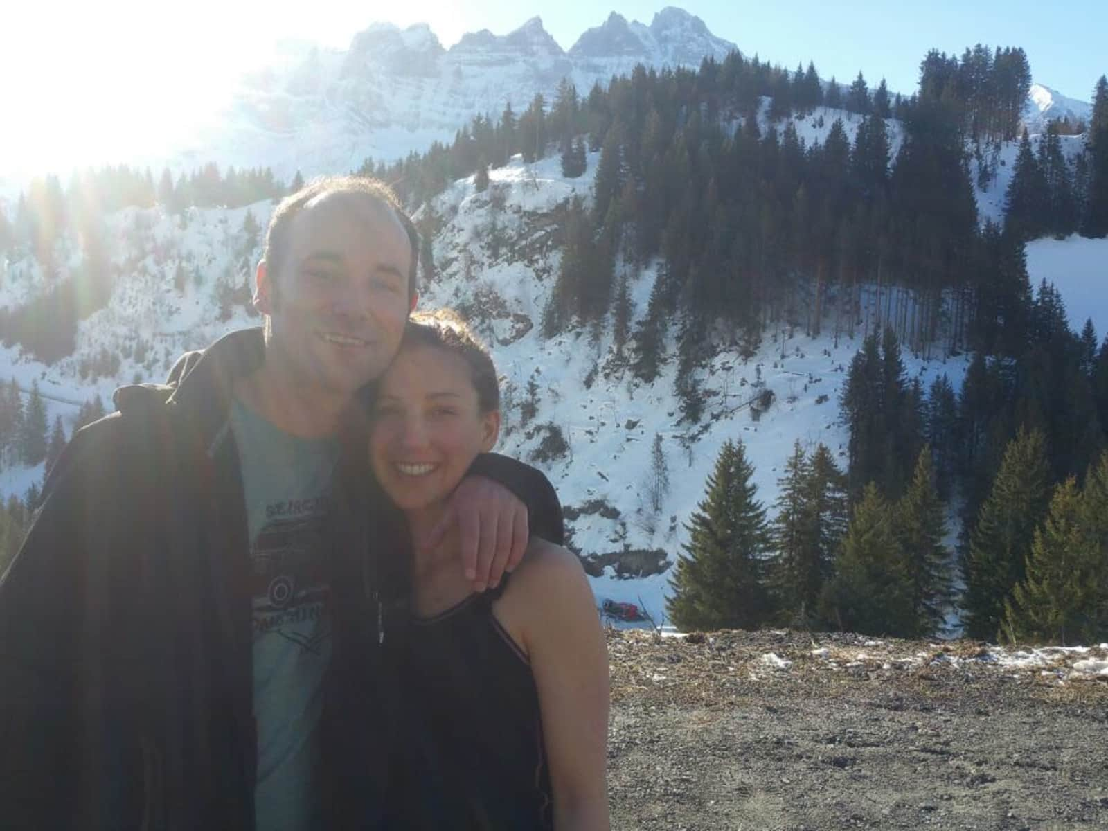 Diane & Jonathan from London, United Kingdom