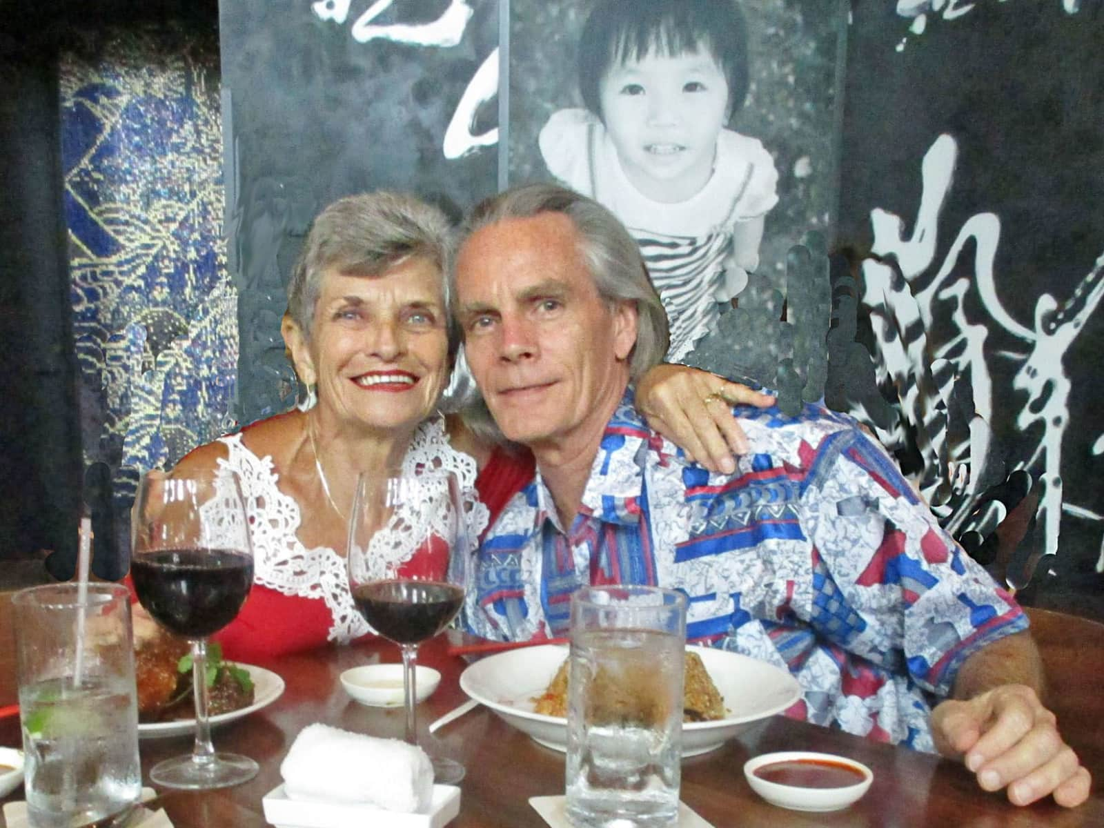 Peter & Lorraine from Orlando, Florida, United States