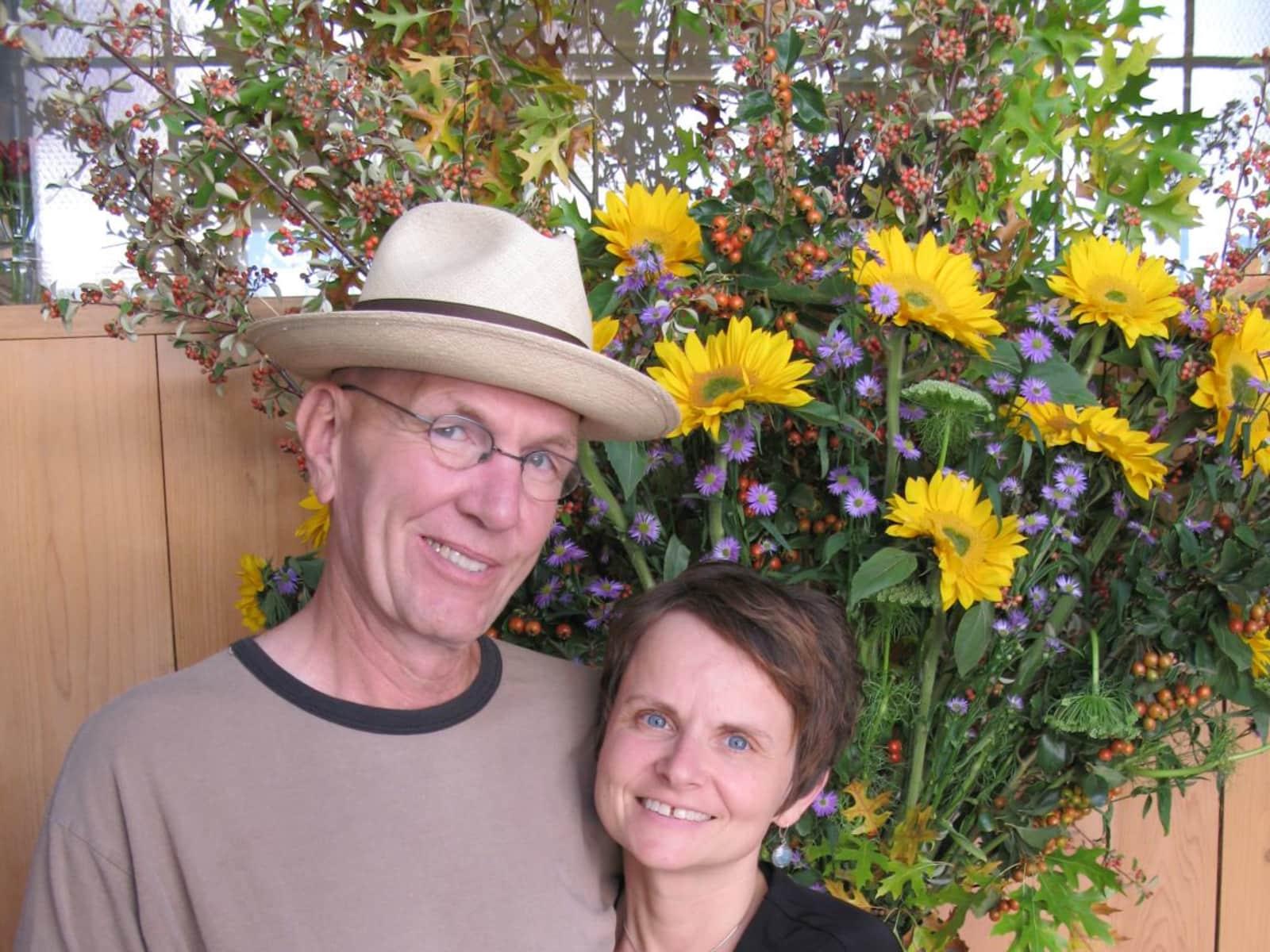 Katharina & Glenn from Barre, Vermont, United States