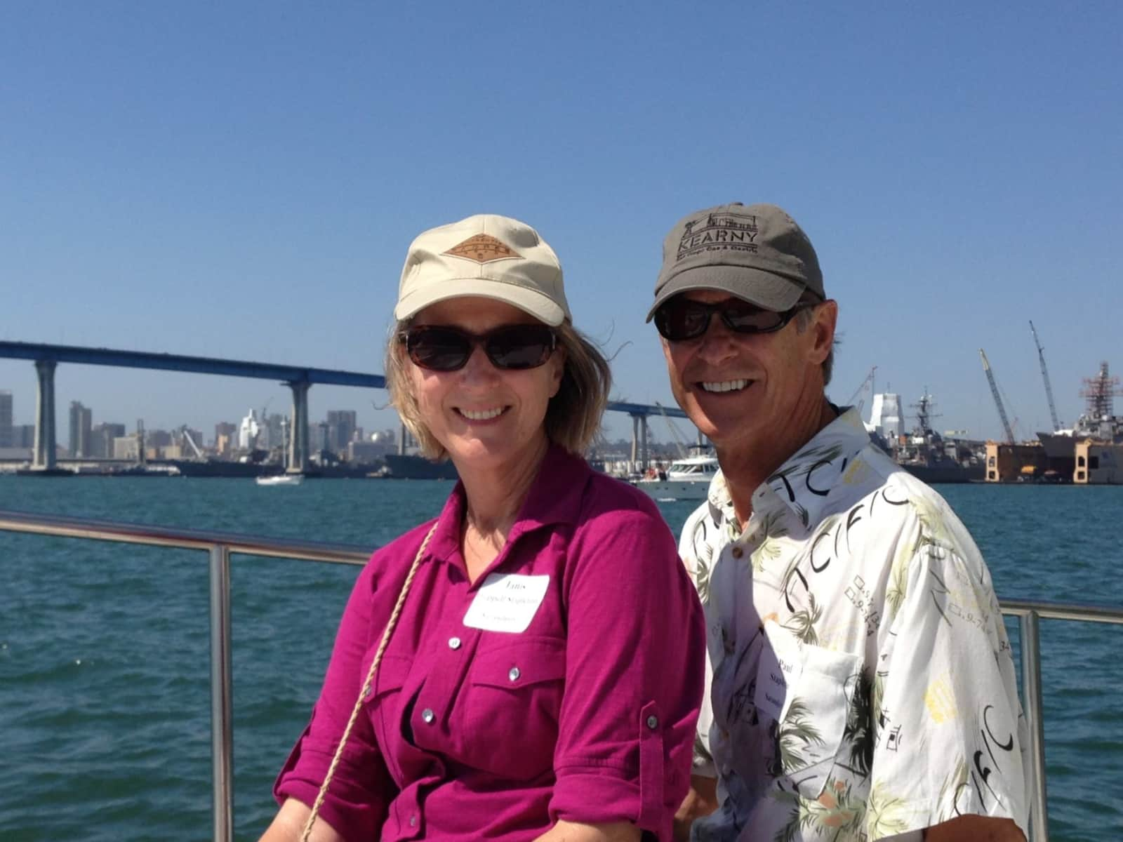 Janis & Paul from San Diego, California, United States