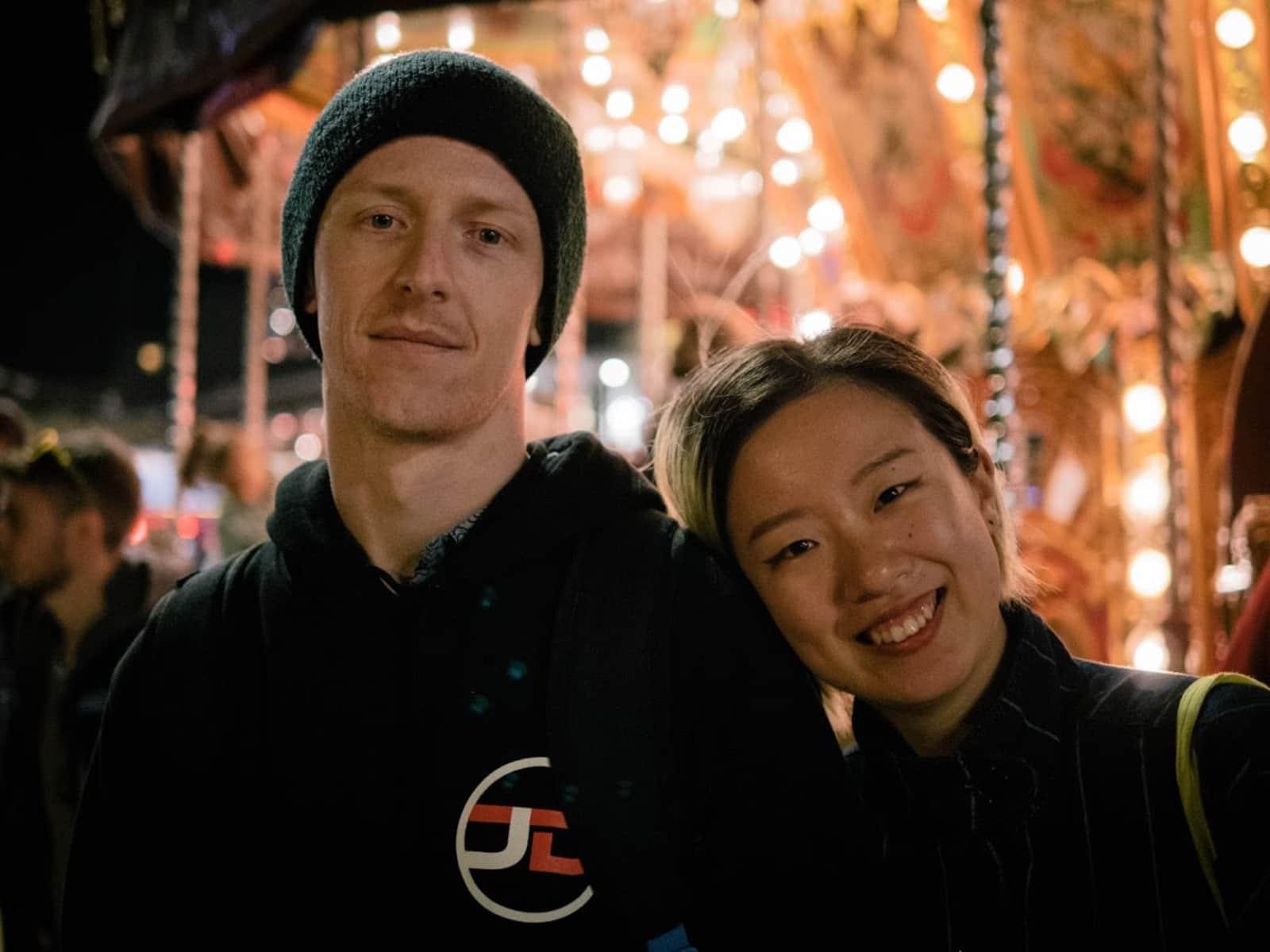 Soyun & Jae from The Hague, Netherlands