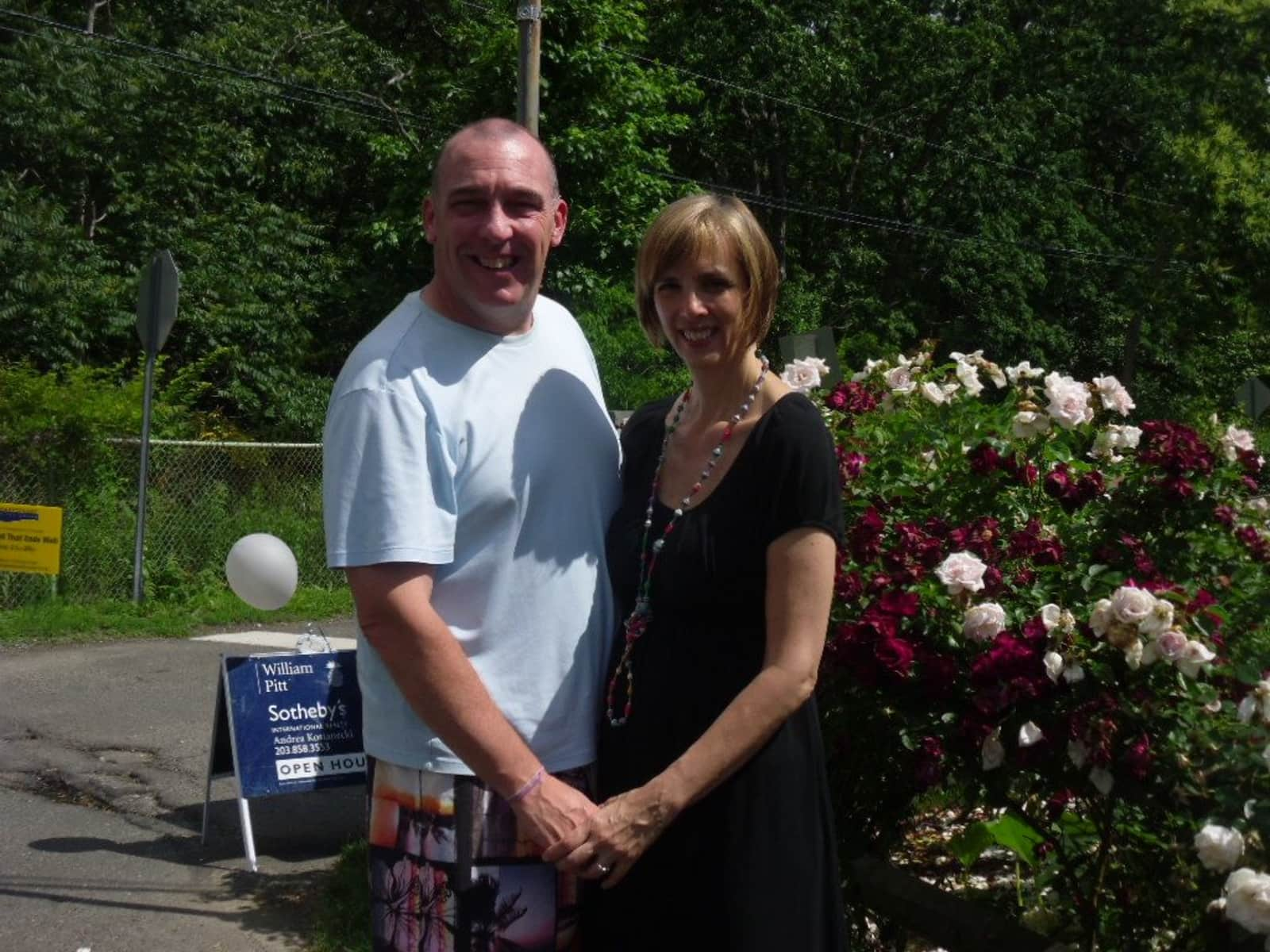 Deirdre & Christopher from Stamford, Connecticut, United States