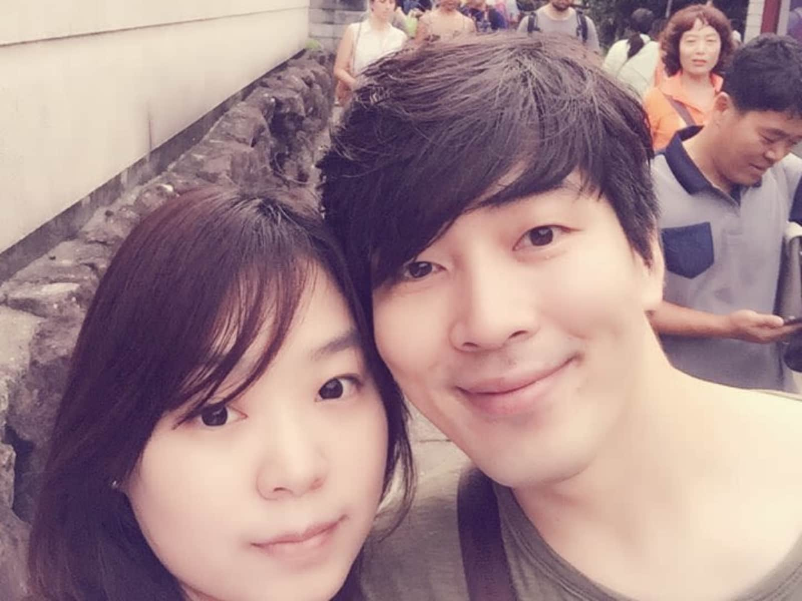 Serena & Sangjoong from Paju, South Korea