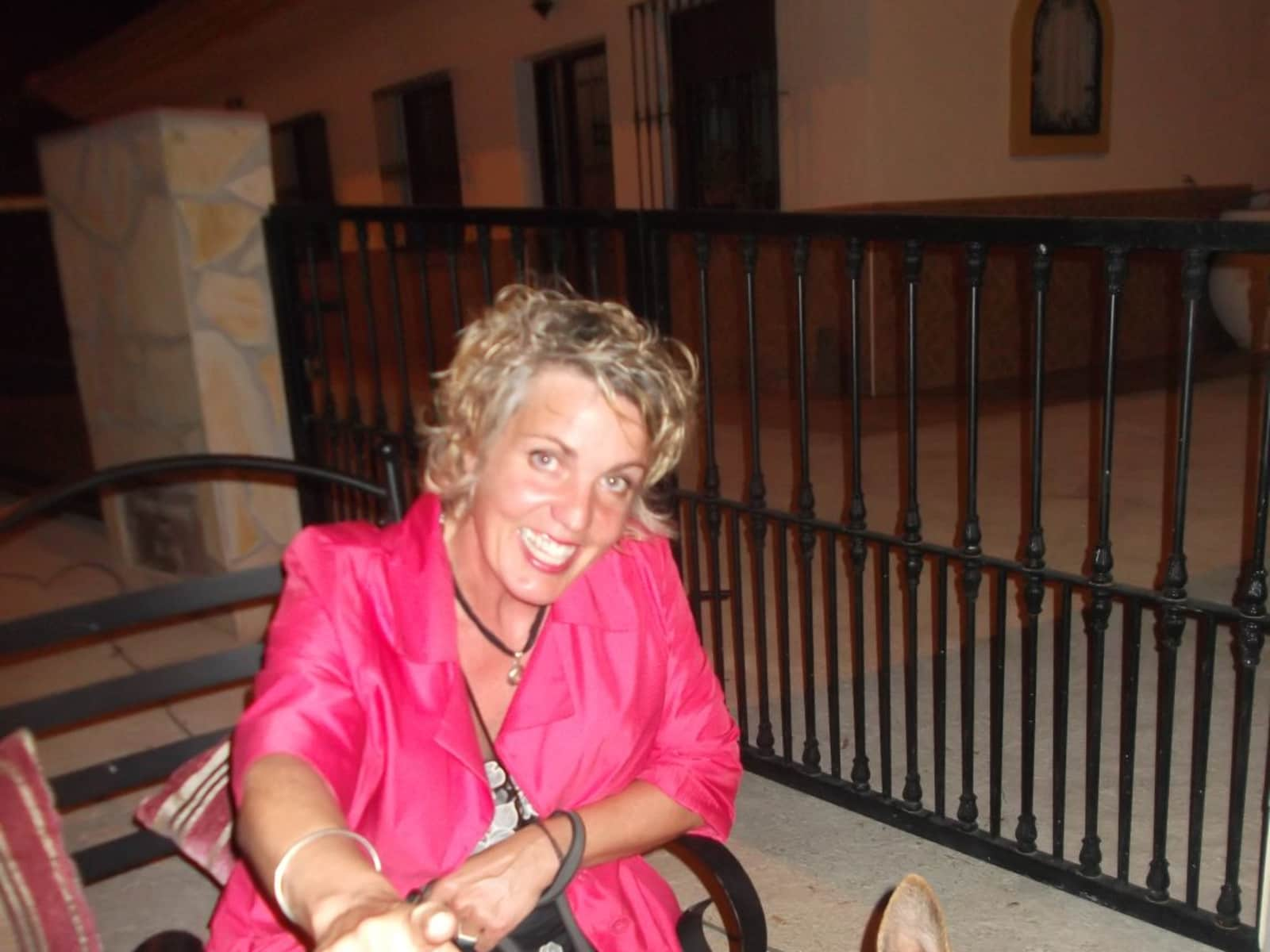 Sue from Hastings, United Kingdom