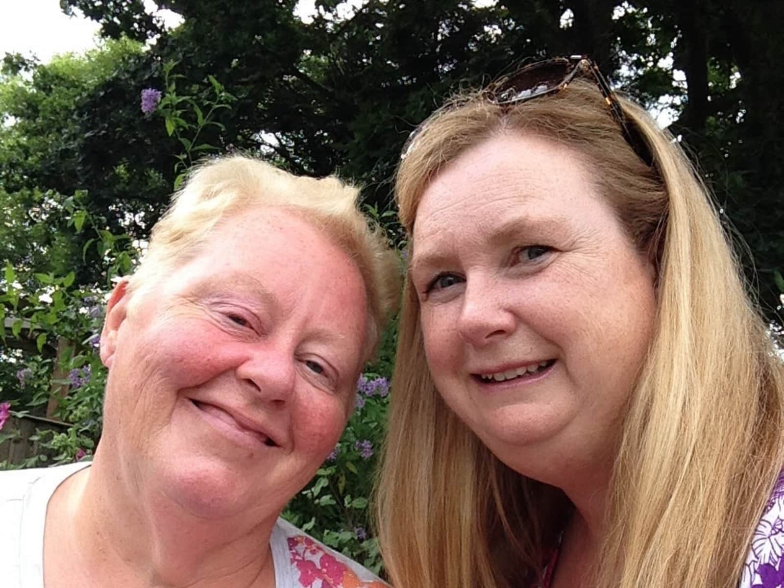 Val & Berenice from Harrogate, United Kingdom