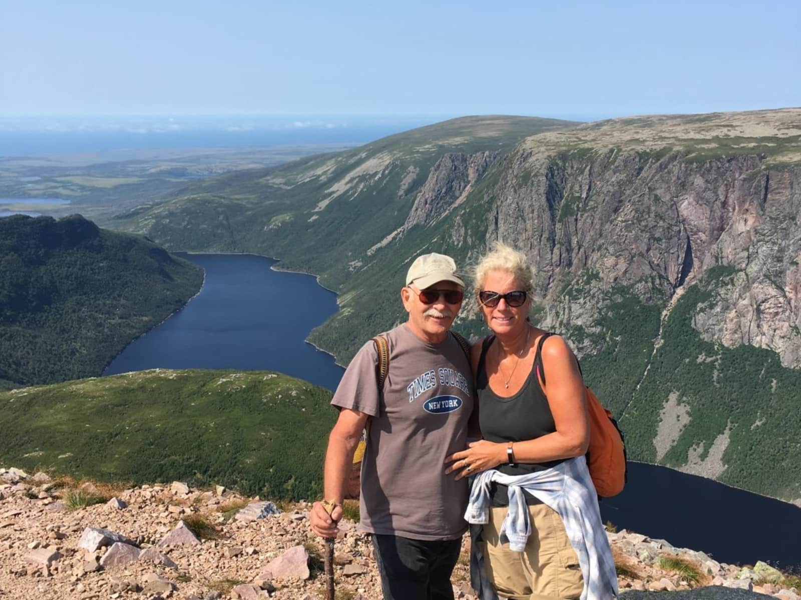 Karen & Cameron from Halifax, Nova Scotia, Canada