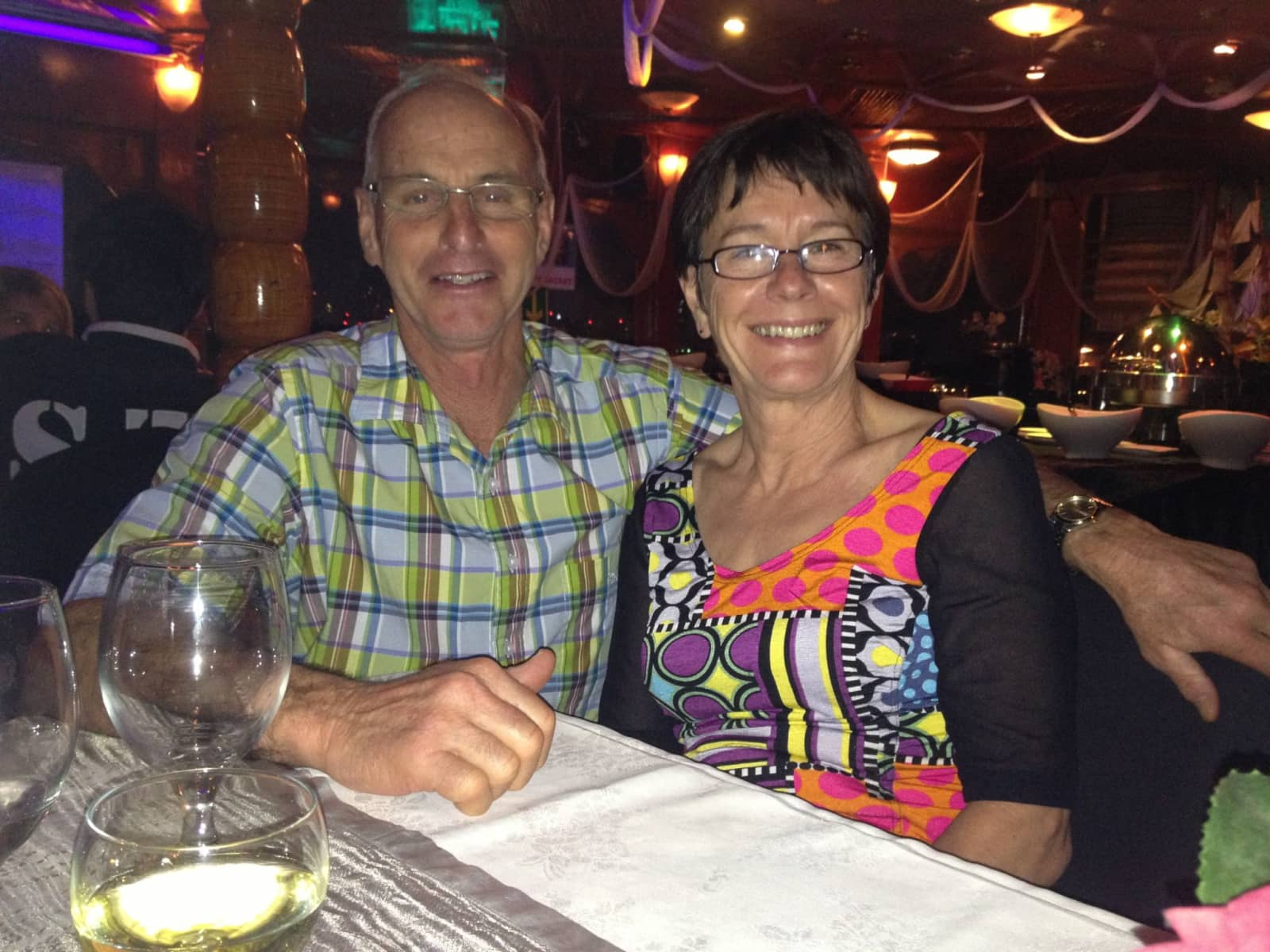 Peter & Maggie from Palmerston North, New Zealand
