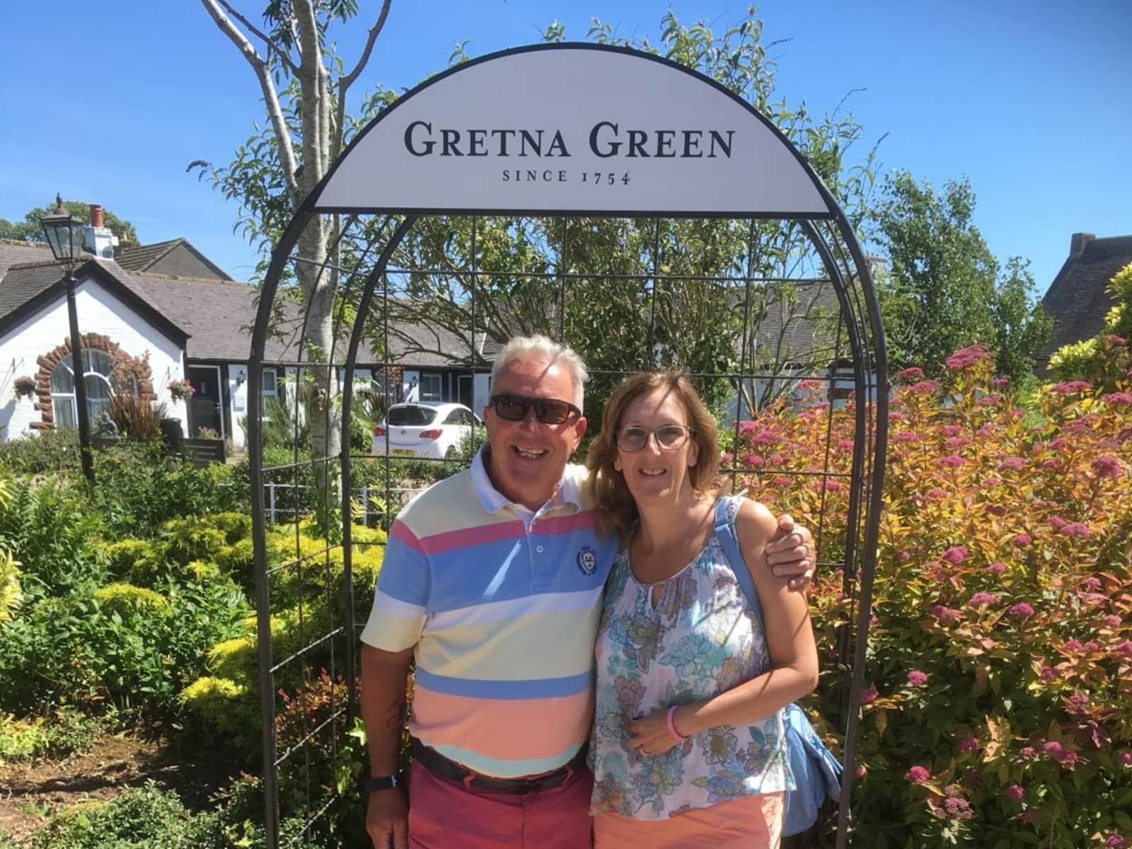 Carol & Robert from Basingstoke, United Kingdom