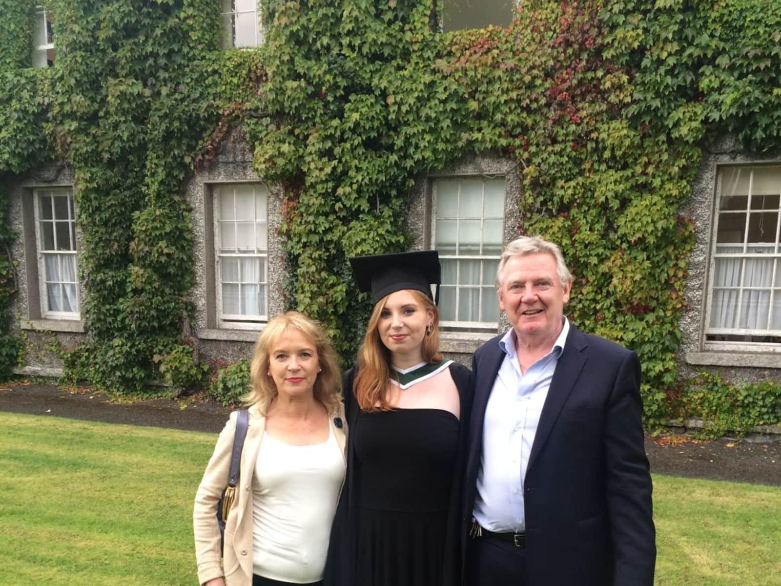 Peter & Kay from Dublin, Ireland