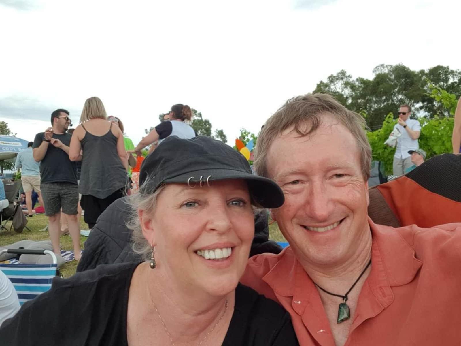 Janet & Ross from Croydon Hills, Victoria, Australia