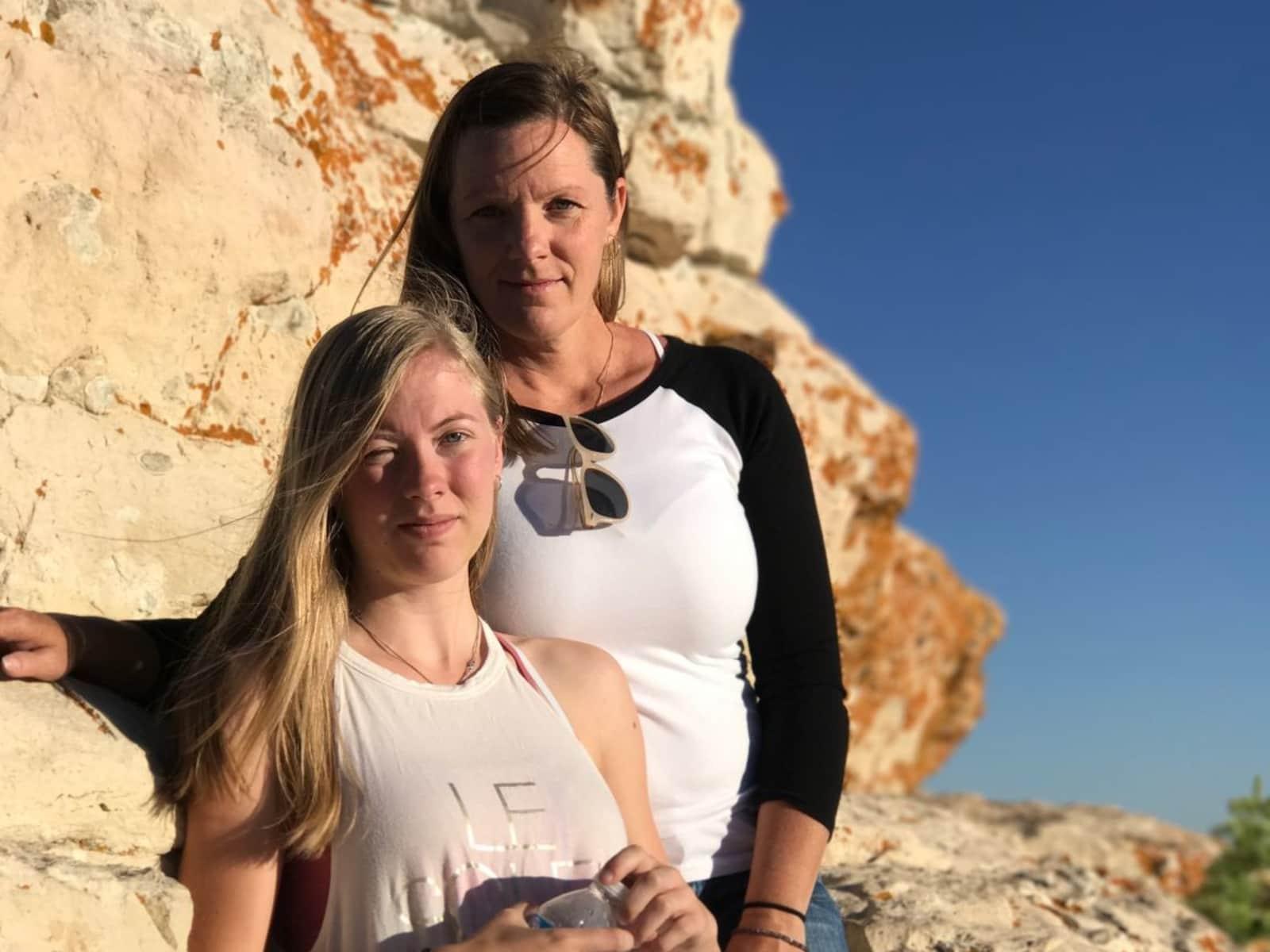 Trina & Emily from Calgary, Alberta, Canada
