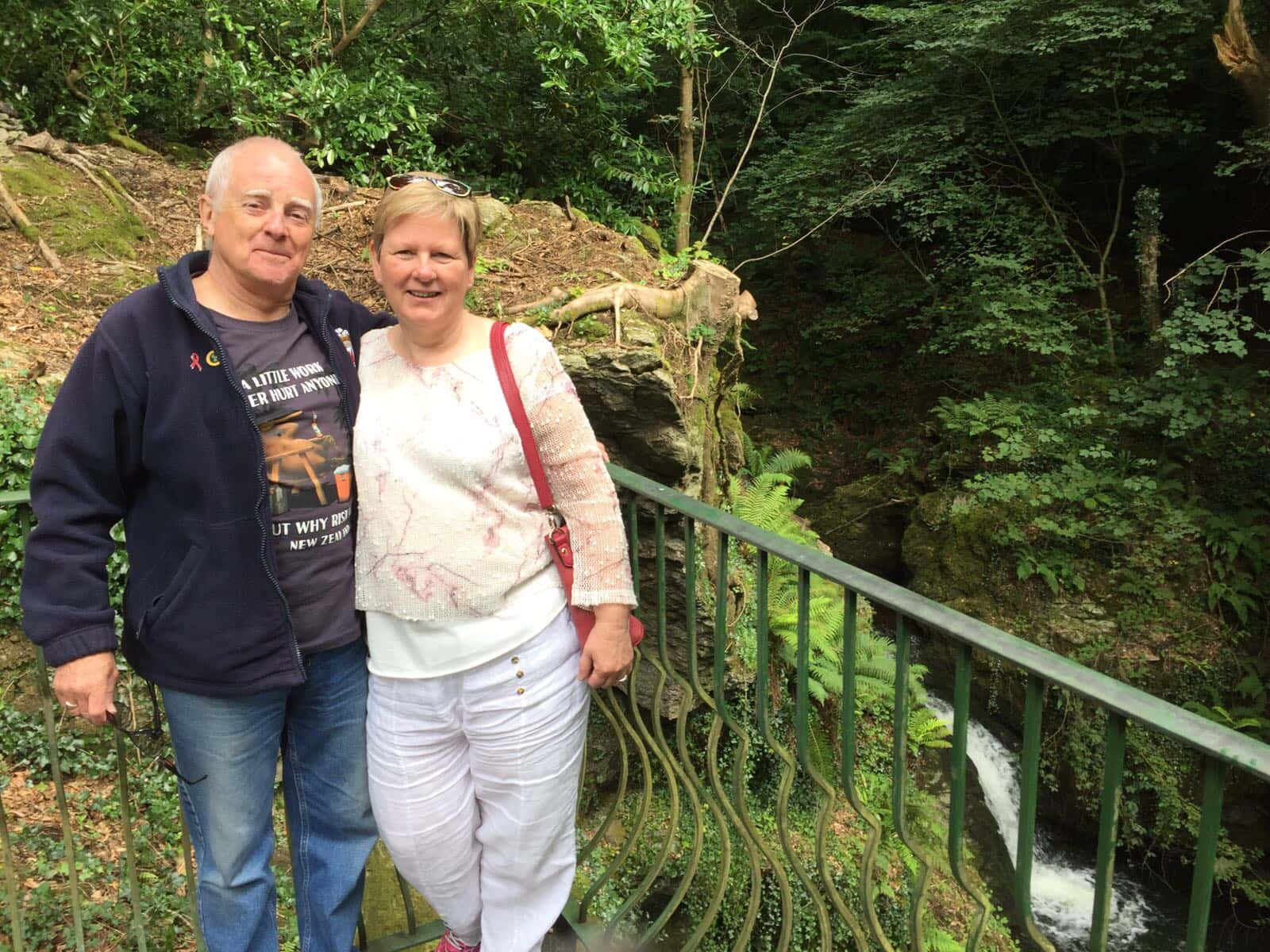 Angela & Howard from Llandegfan, United Kingdom