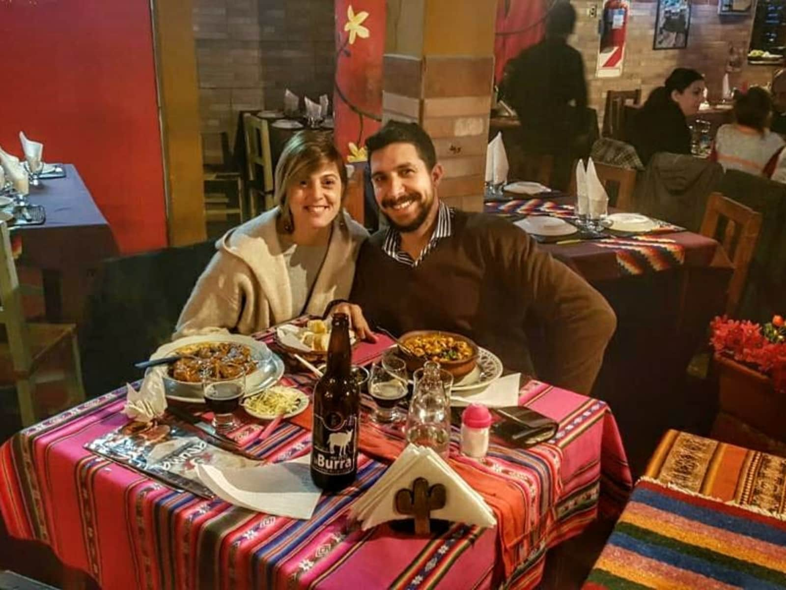 Germán ignacio & María belén from Morón, Argentina