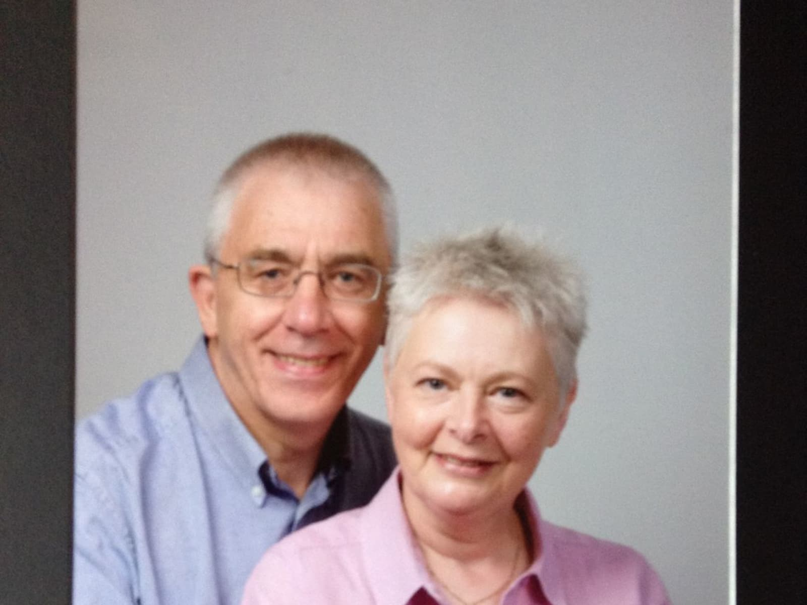 Rona & Reg from Preston, United Kingdom