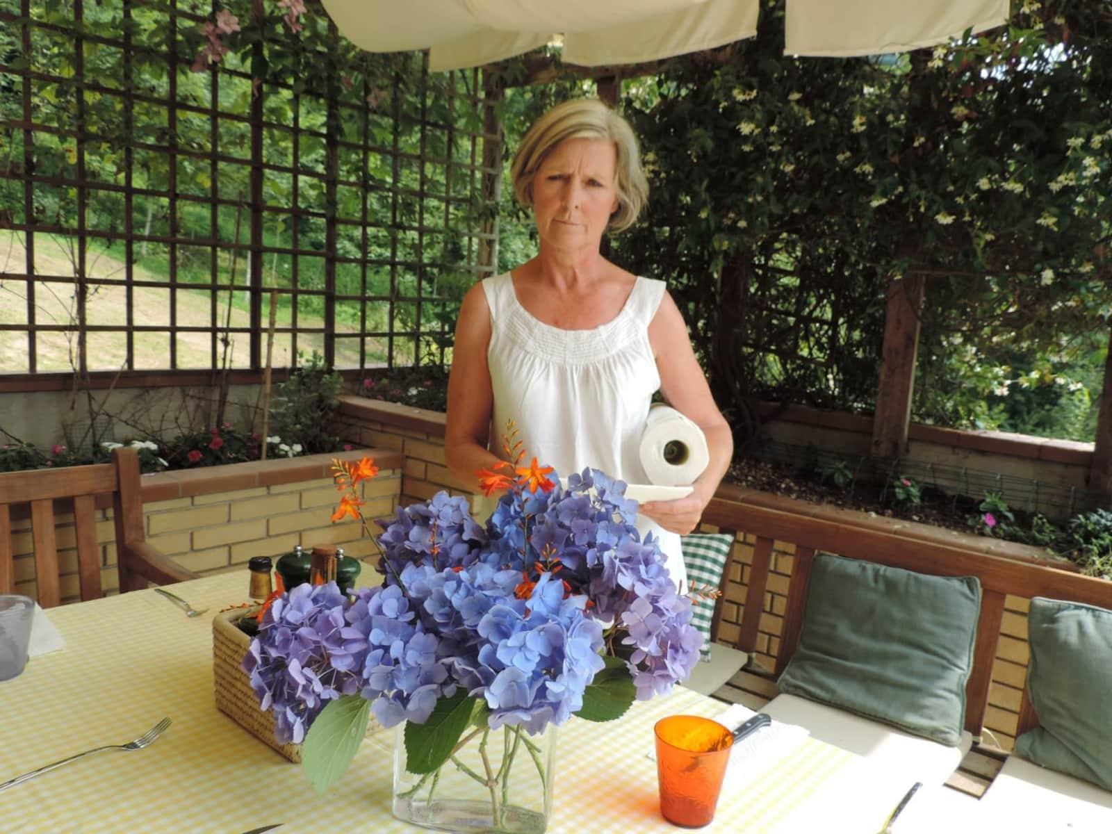 Elizabeth from Pordenone, Italy
