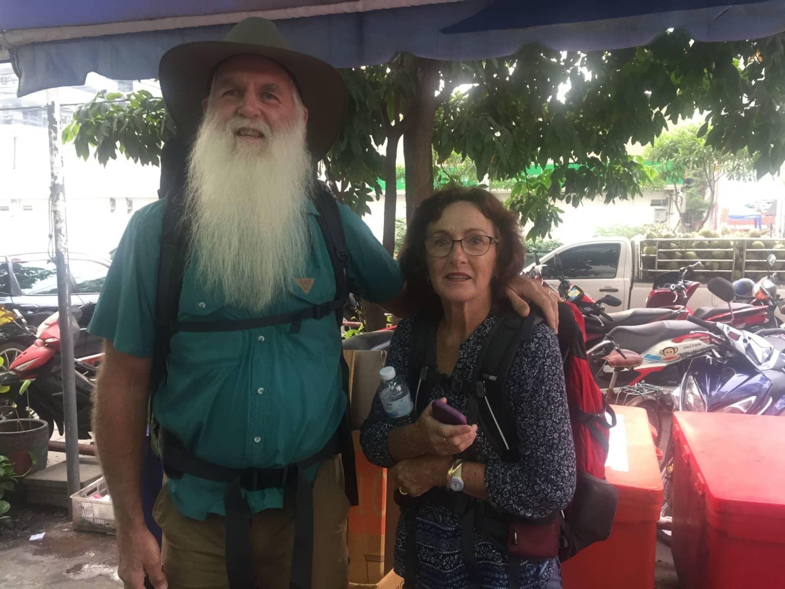 Stephen & Monica from St Helens, Tasmania, Australia