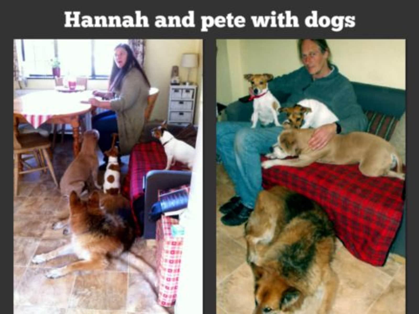 Hannah & Peter from London, United Kingdom