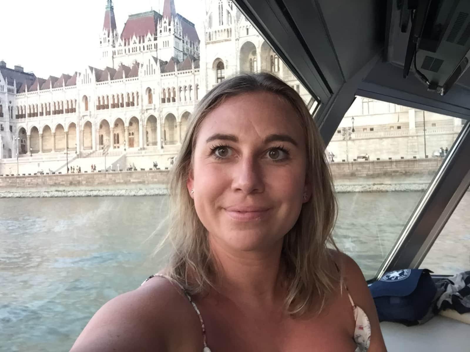 Rebekah from London, United Kingdom