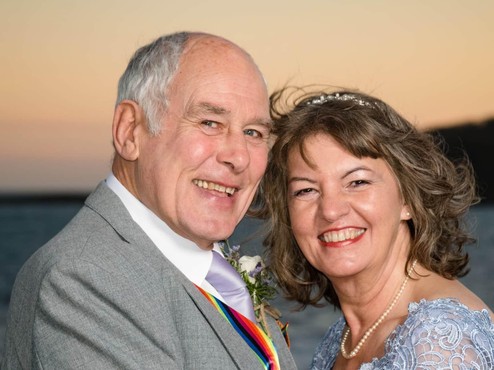 Roberta & Roger from Modbury, United Kingdom