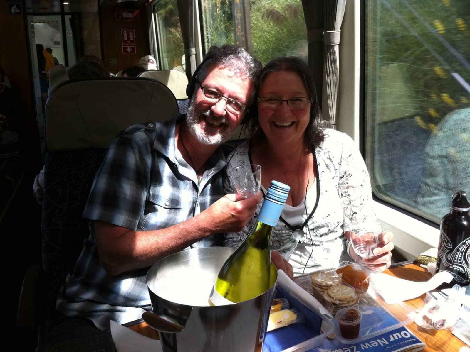 Liz & Andrew from Wellington, New Zealand
