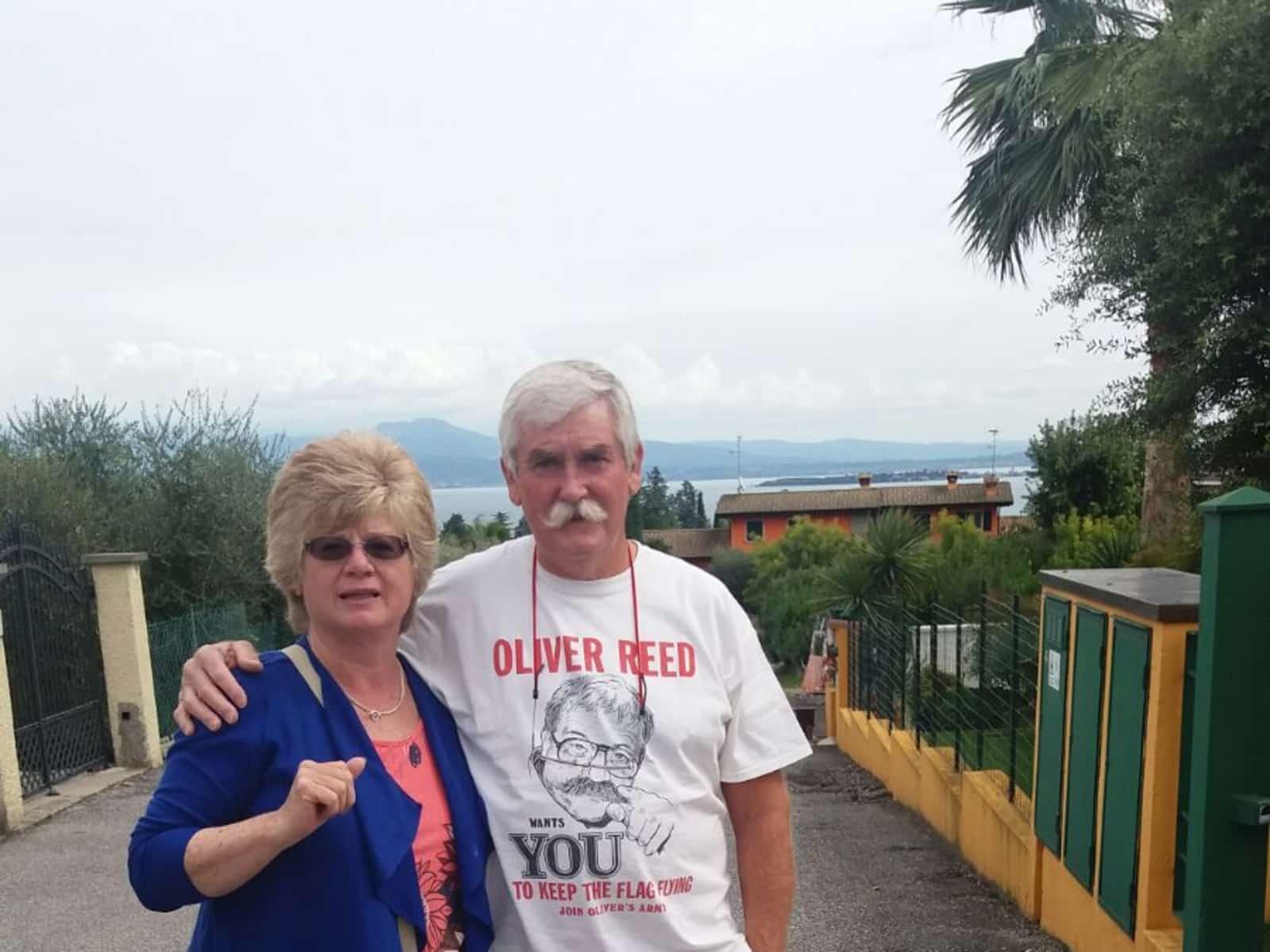 Elaine & Ross from Bourne, United Kingdom