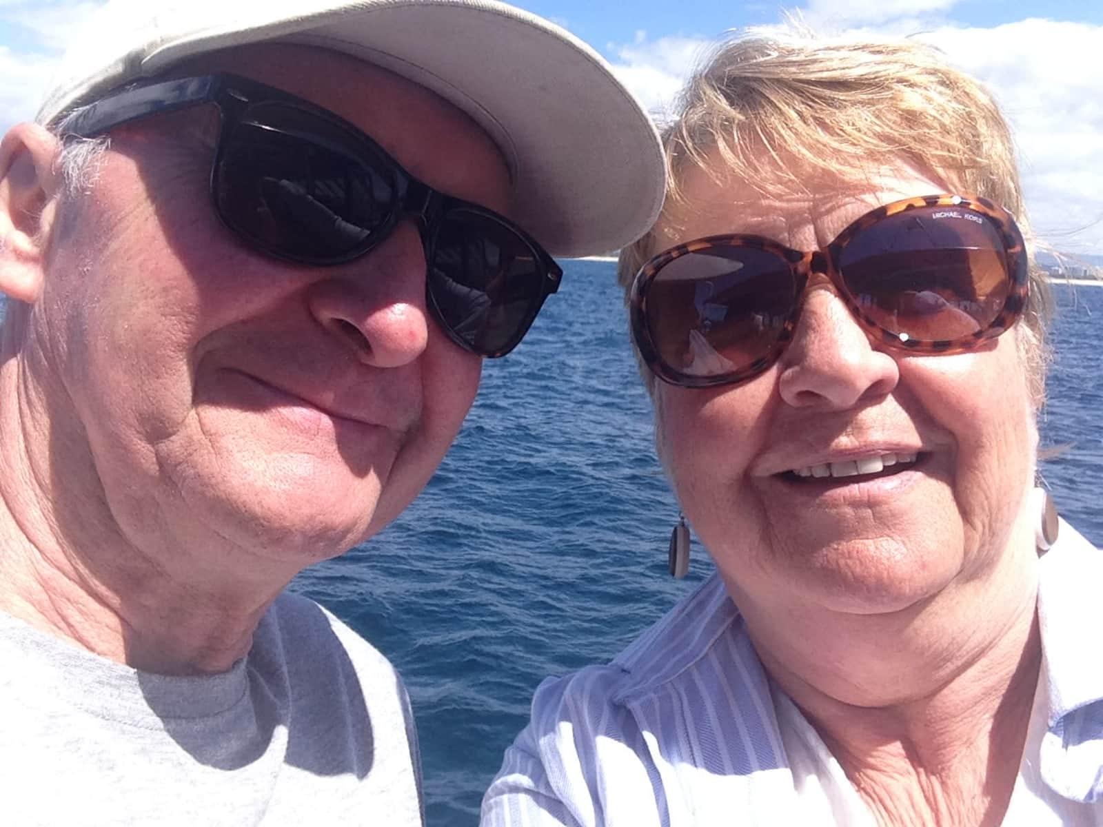 Sue & Nigel from Brisbane, Queensland, Australia