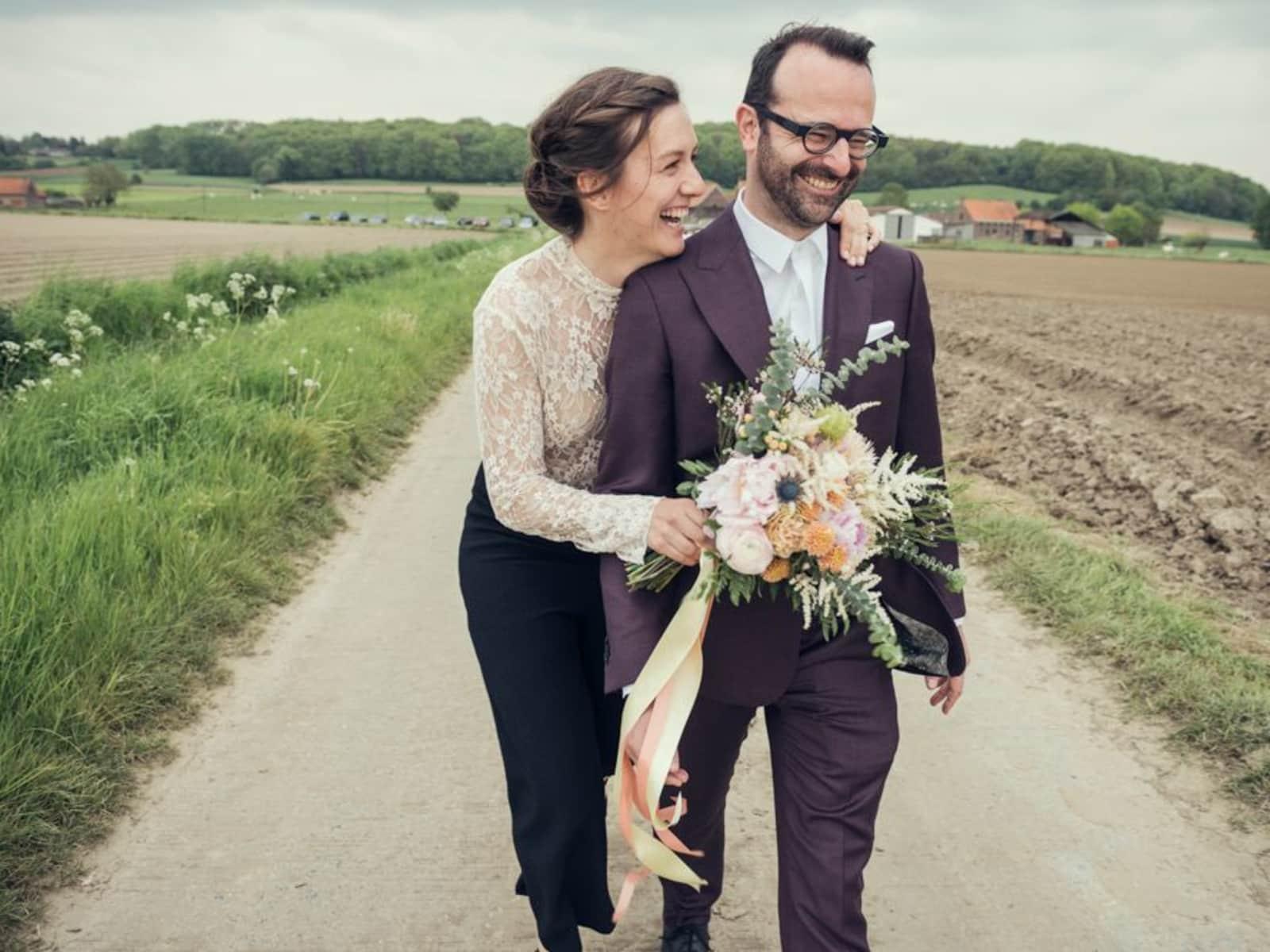 Rosalien & Piet from Oudenaarde, Belgium