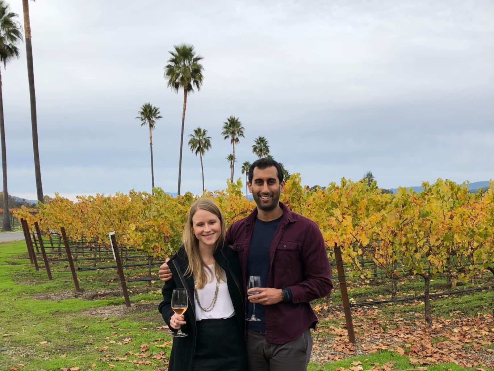 Sarah & amartya & Amartya from San Francisco, California, United States