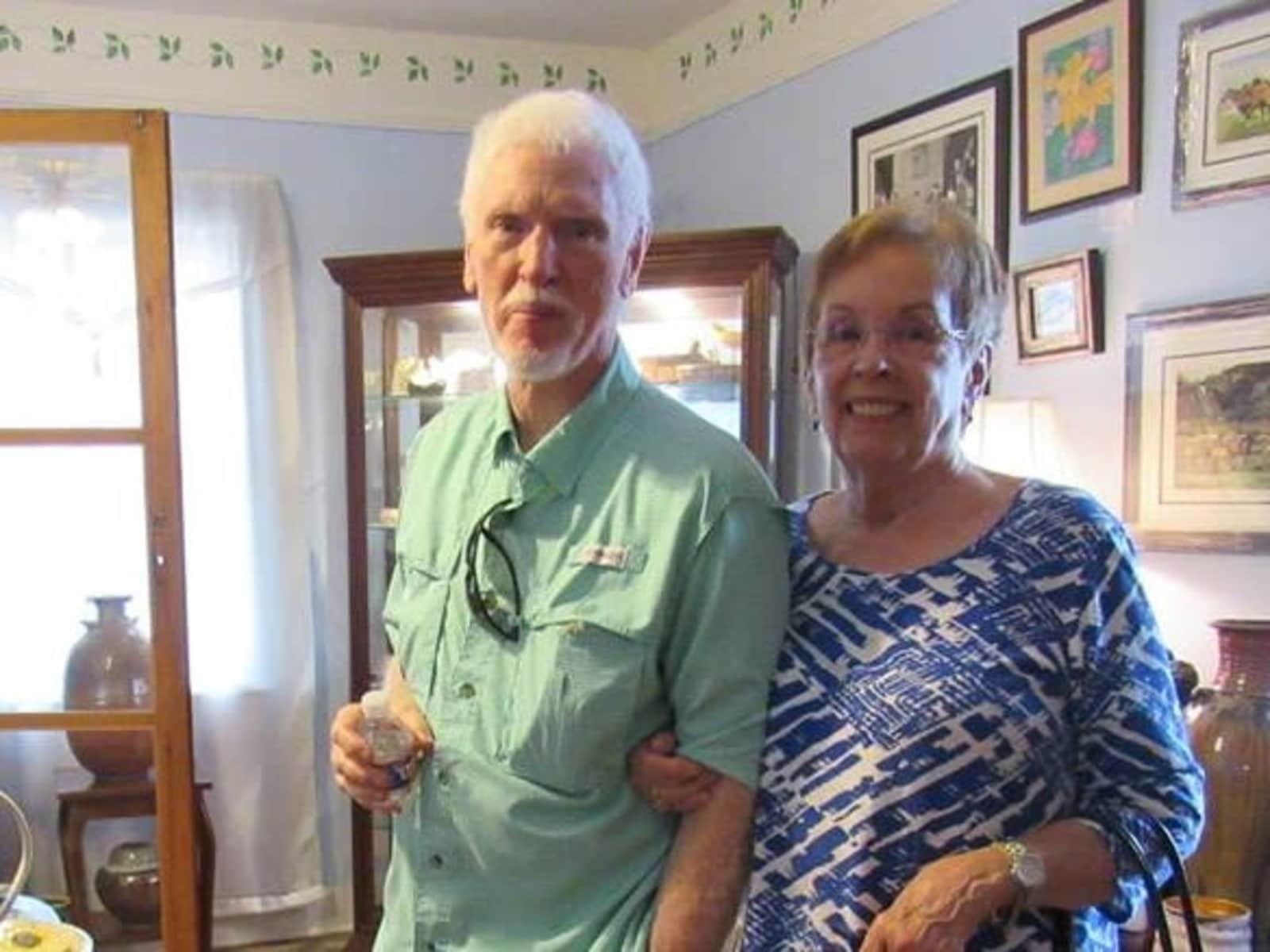 Benita & John from Gonzales, Louisiana, United States