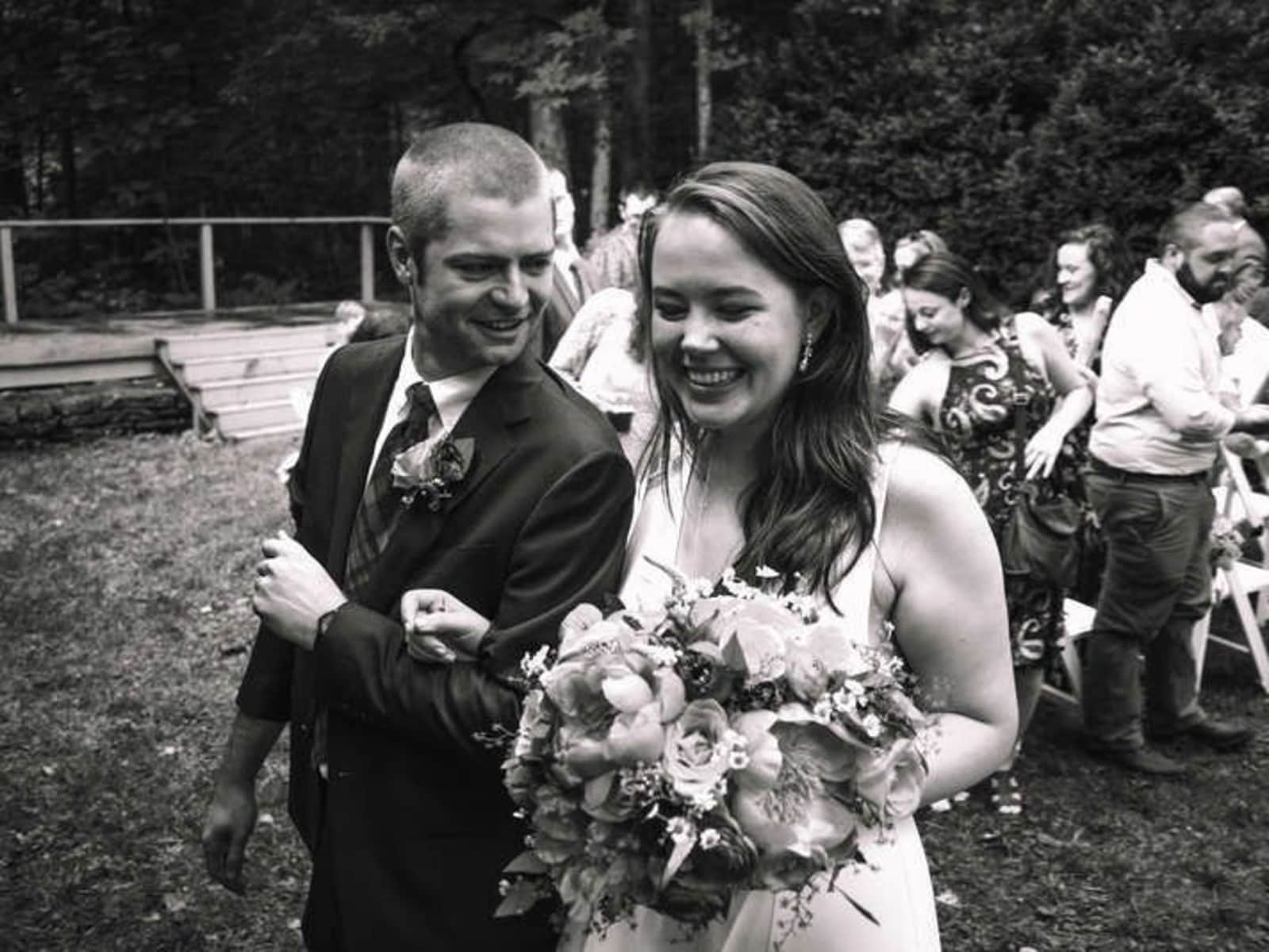 Brian & Julia from Greensboro, North Carolina, United States