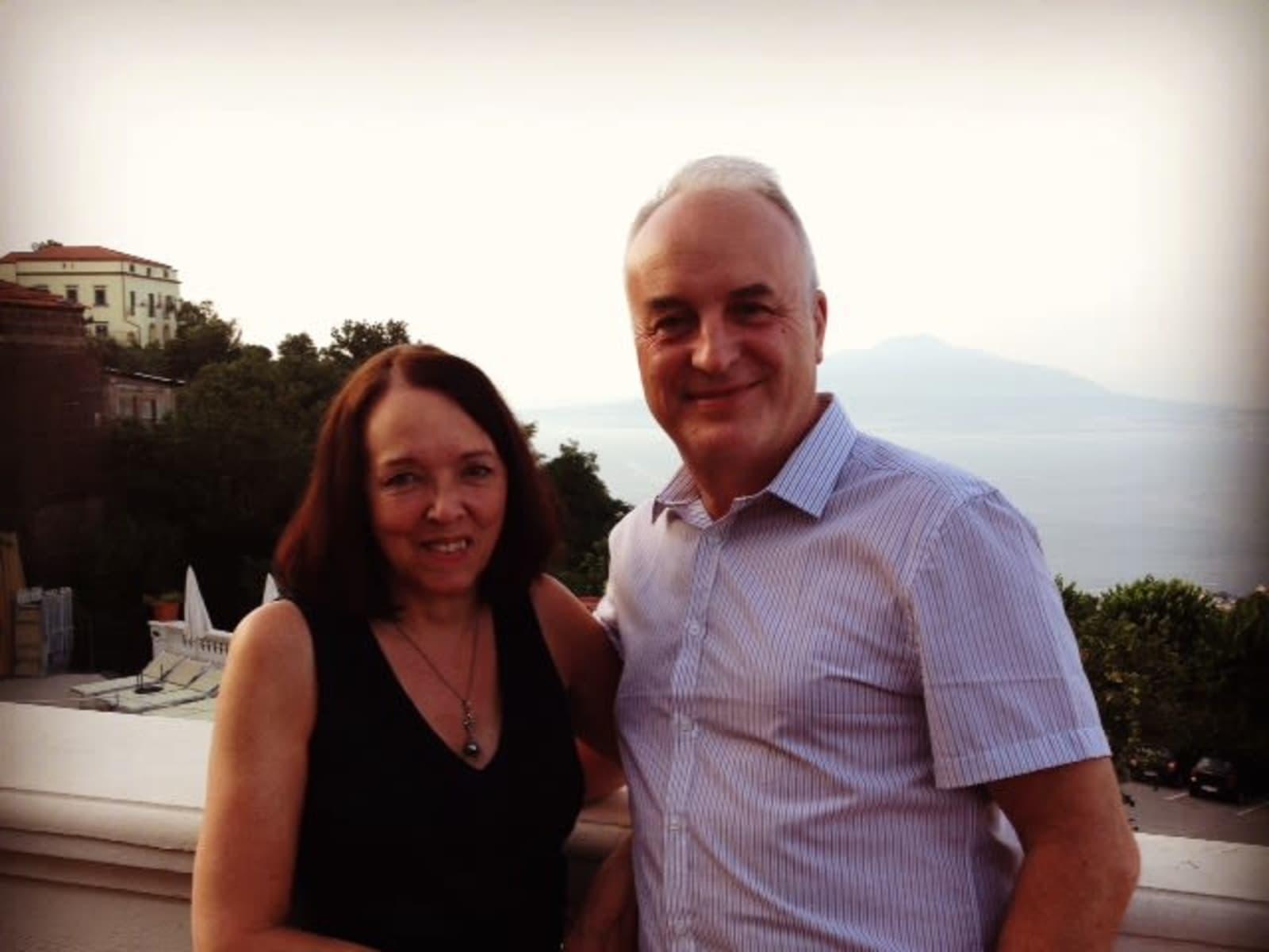 Paul & Julie from Holmfirth, United Kingdom