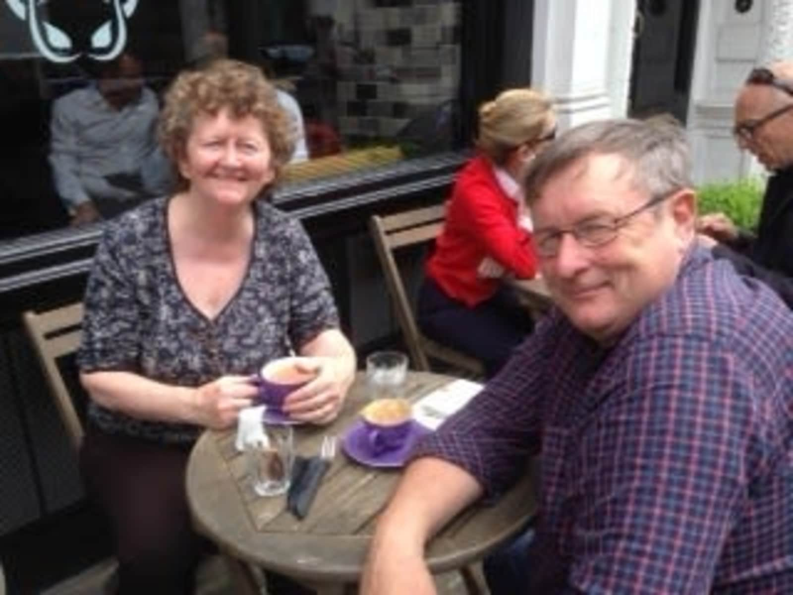 David & Marion from Plymouth, United Kingdom