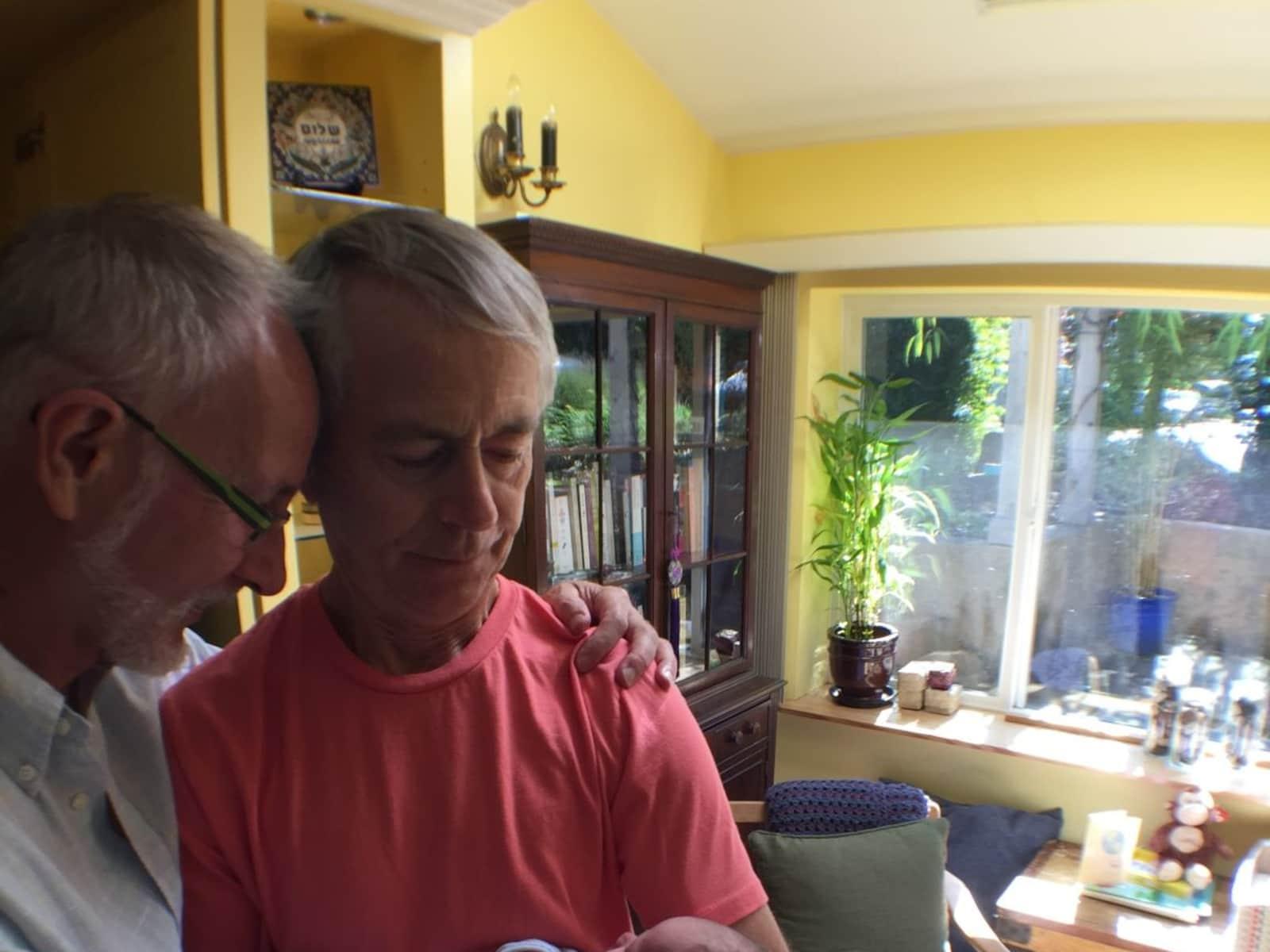 John & Robert from Victoria, British Columbia, Canada