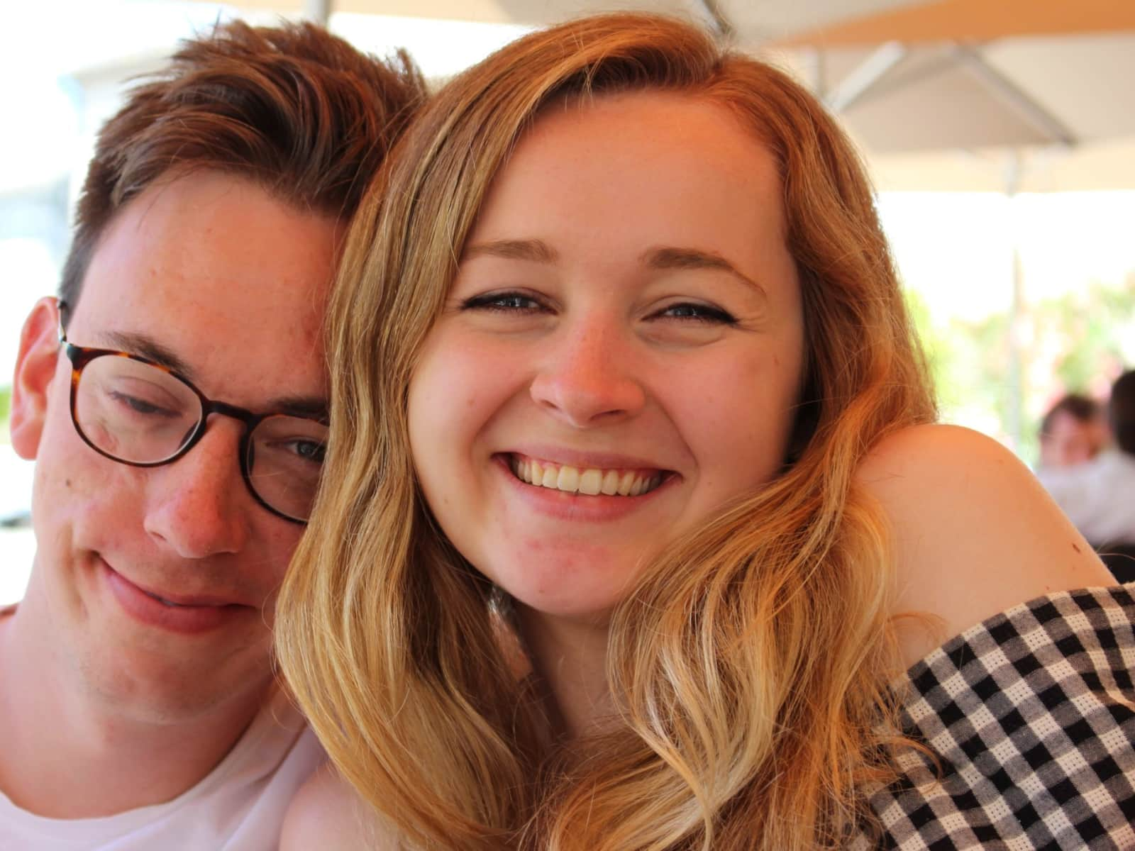 Fiona & Oscar from London, United Kingdom