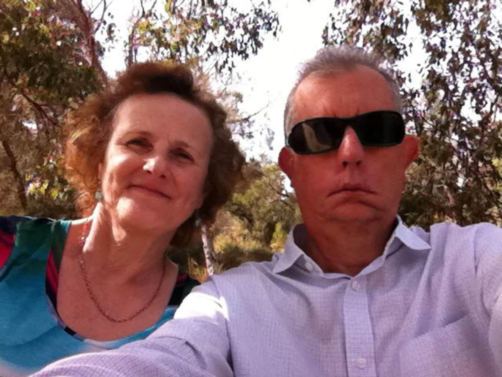 Ian & Janet from Adelaide, South Australia, Australia