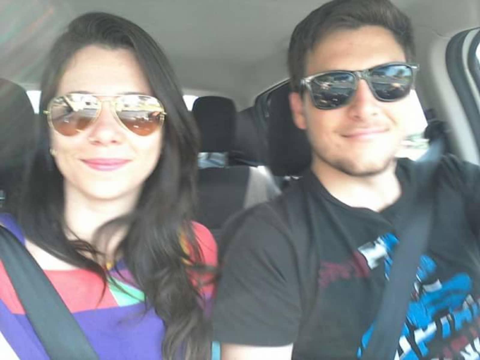 Talita & Rennan from Cuiabá, Brazil