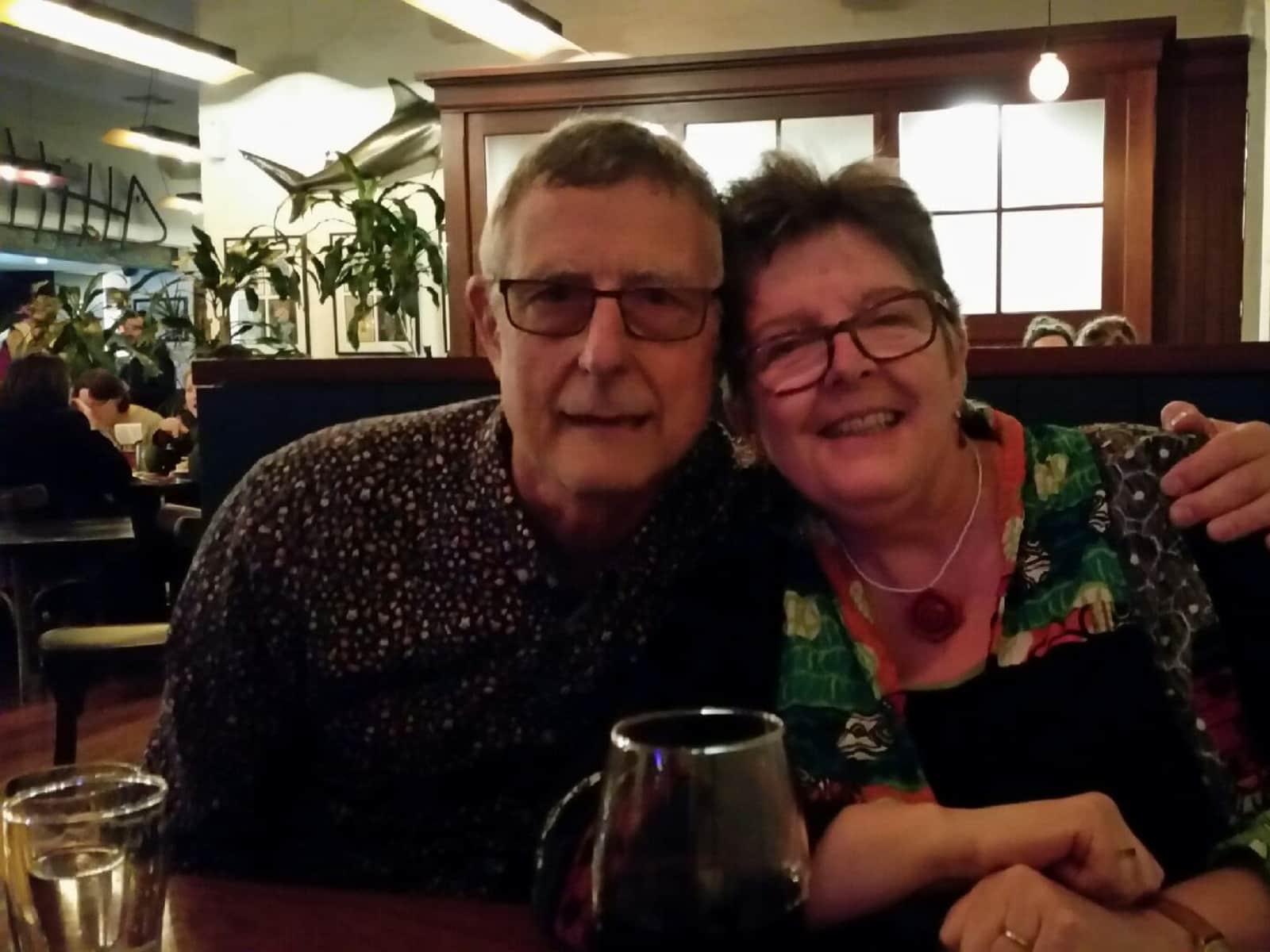 Tony & Sally from Beaconsfield, Western Australia, Australia