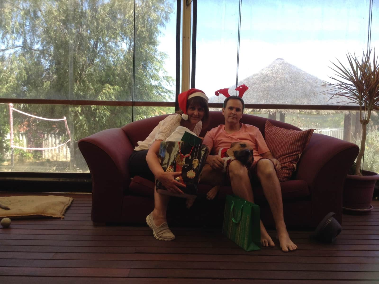 Lyn & David from Perth, Western Australia, Australia
